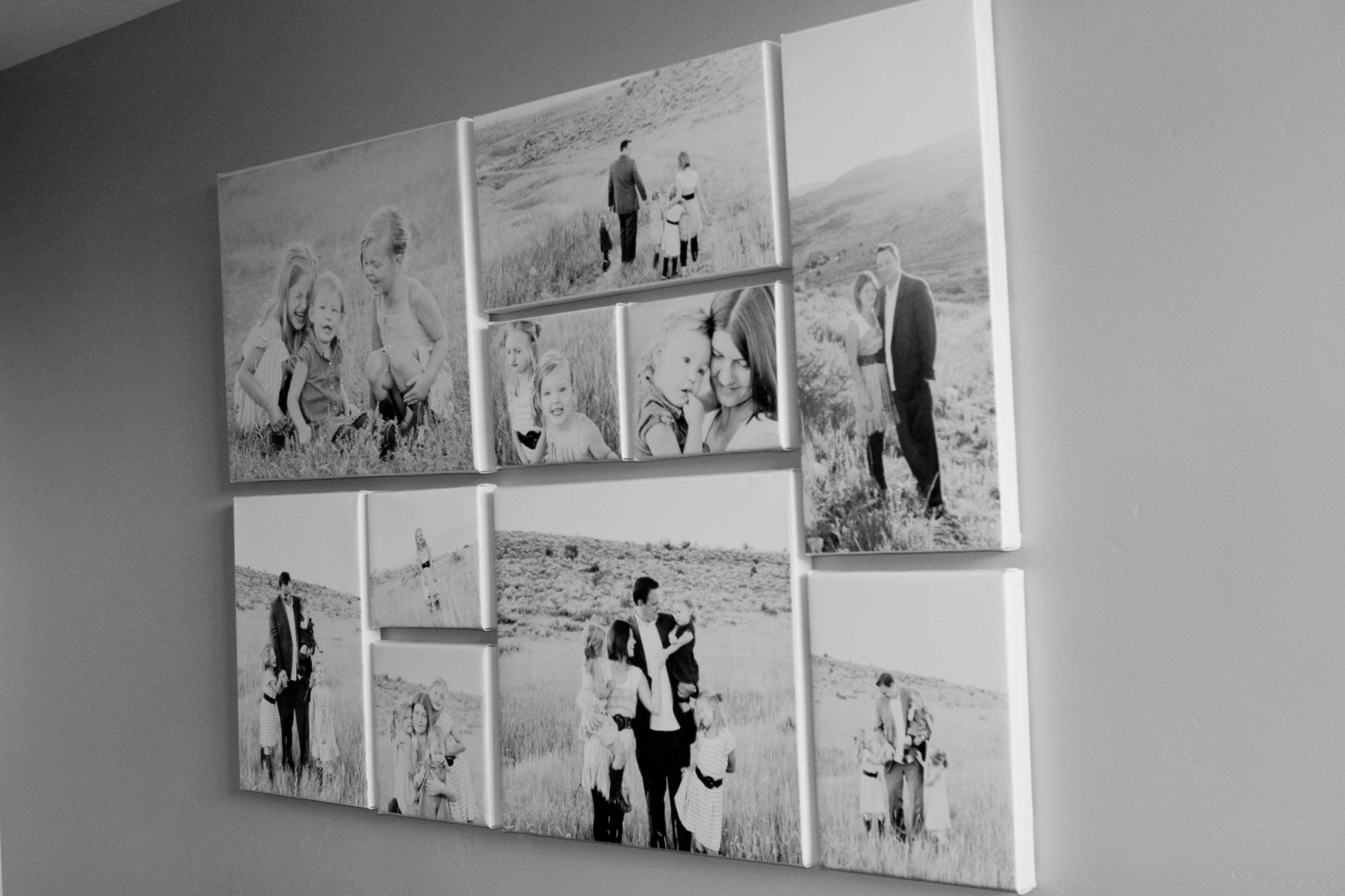 Project…canvas wall Pinterest
