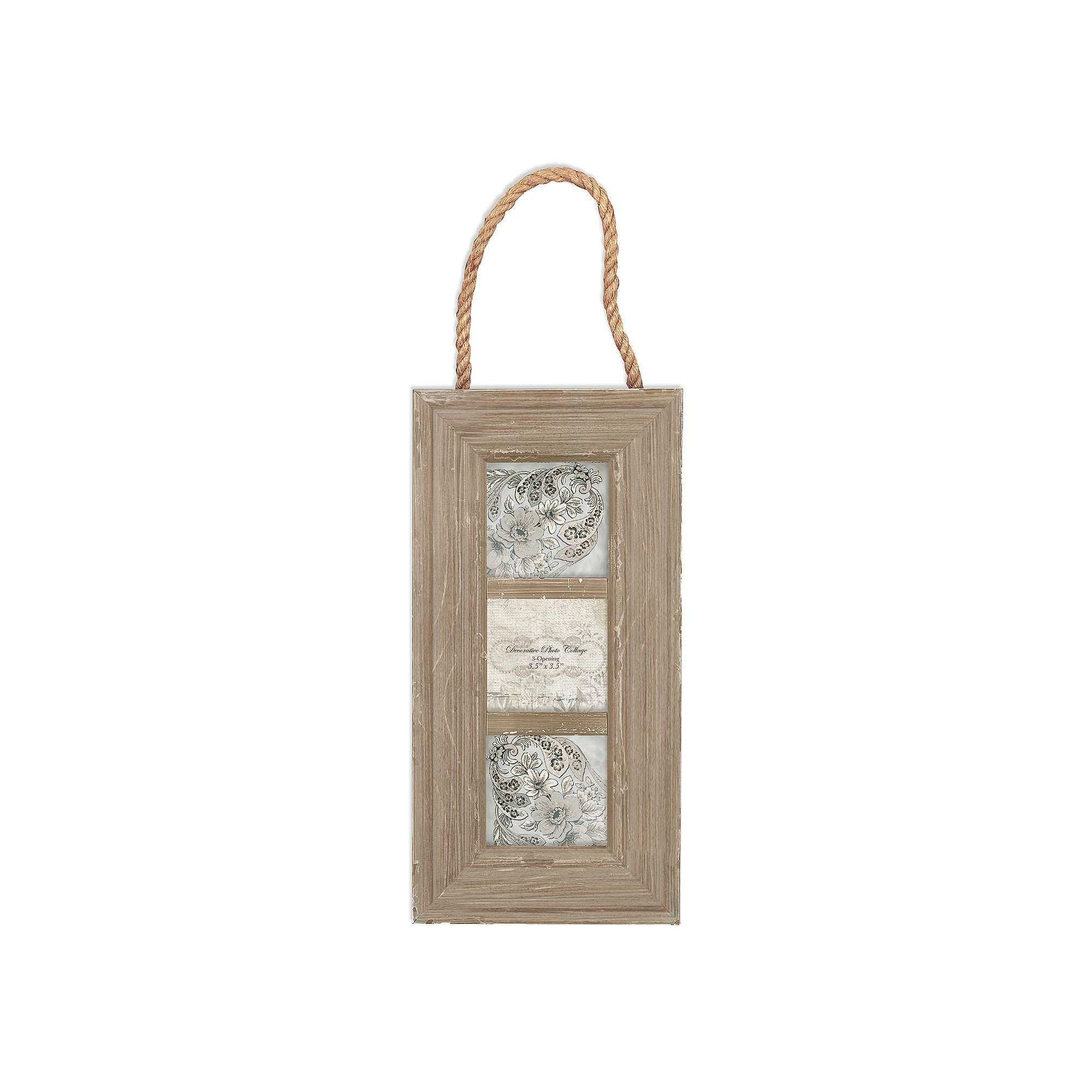 Belle Maison 3 Opening Rope Collage Frame Other Clrs