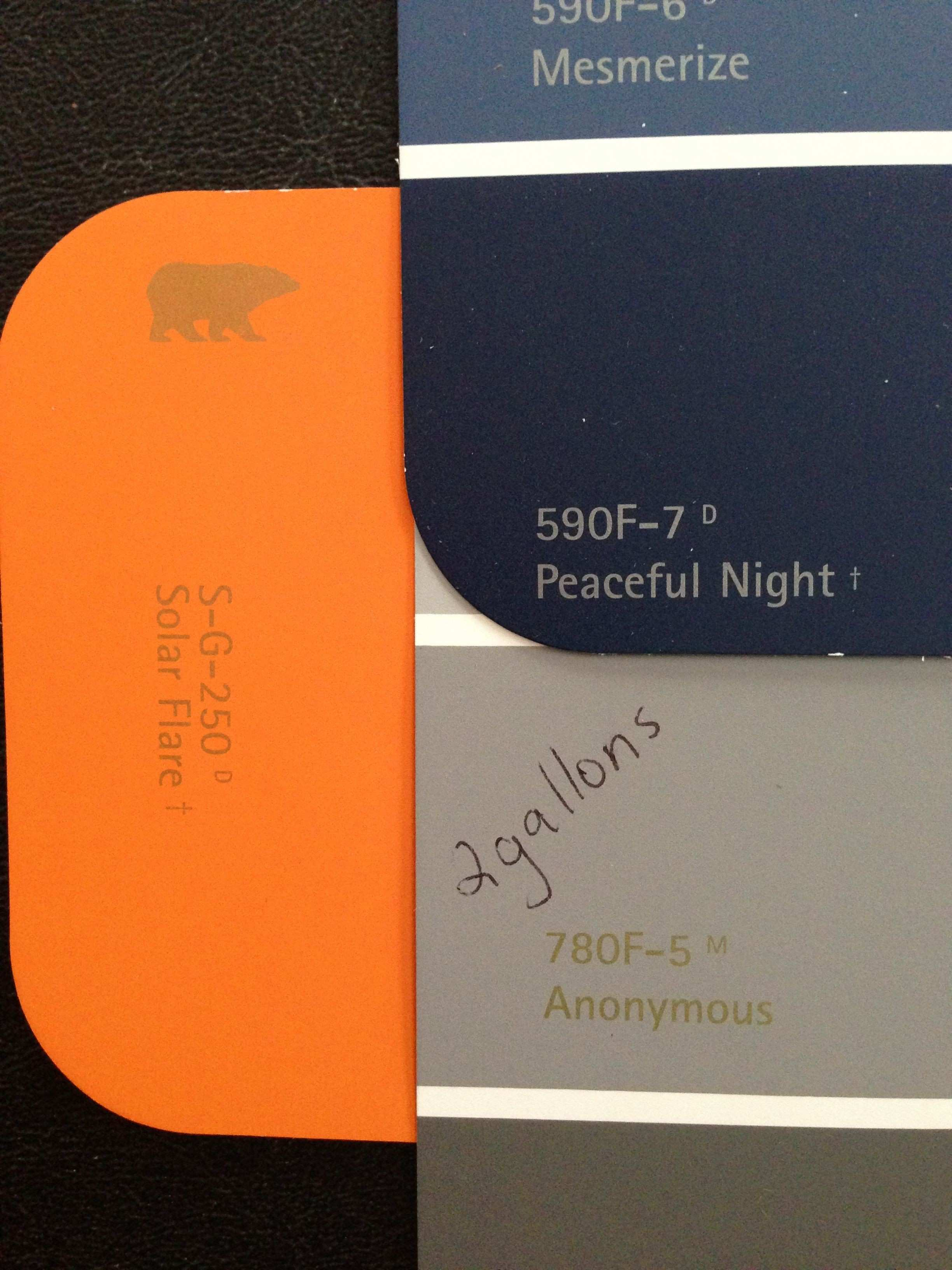 Bedroom color scheme with Behr colors Anonymous on the walls with