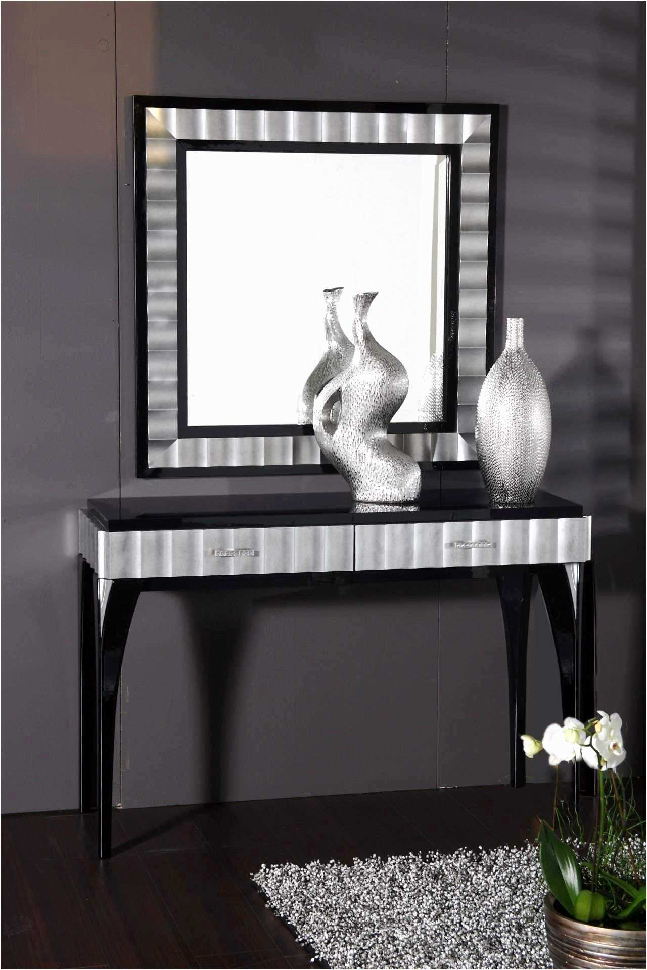 Home Decor Mirrors Beautiful Console Table Decor Contemporary