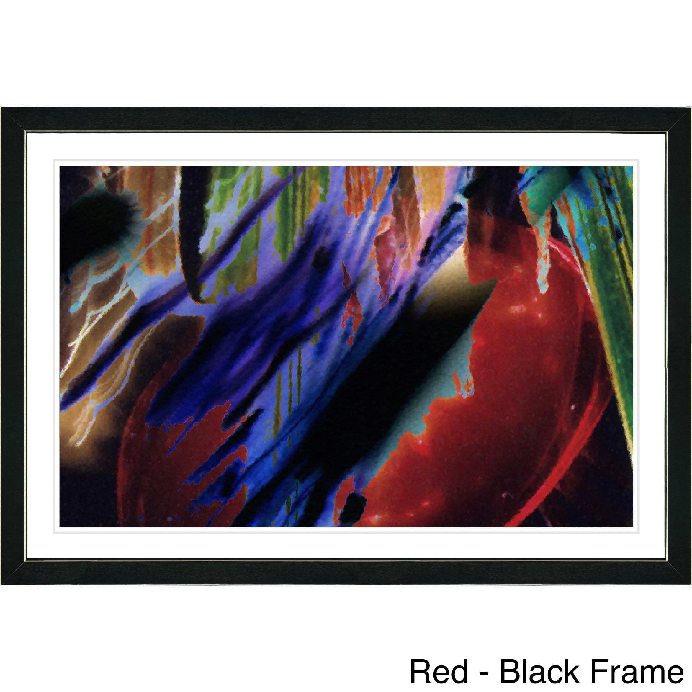 Studio Works Modern Framed Fine Art Contemporary Abstract Ambrose