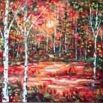 Cool Paintings For Sale Inspirational Copper Birch Trees By Jean Vadal Smith Bentson 100 Of Cool Paintings For Sale