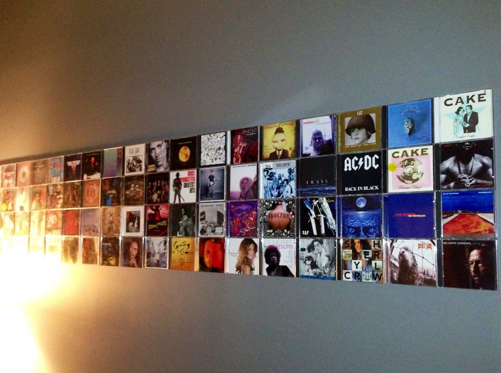 Cool Wall Art for Guys Fresh Cd Wall Art Tach the Cases with 3m Adhesive Strips You Could