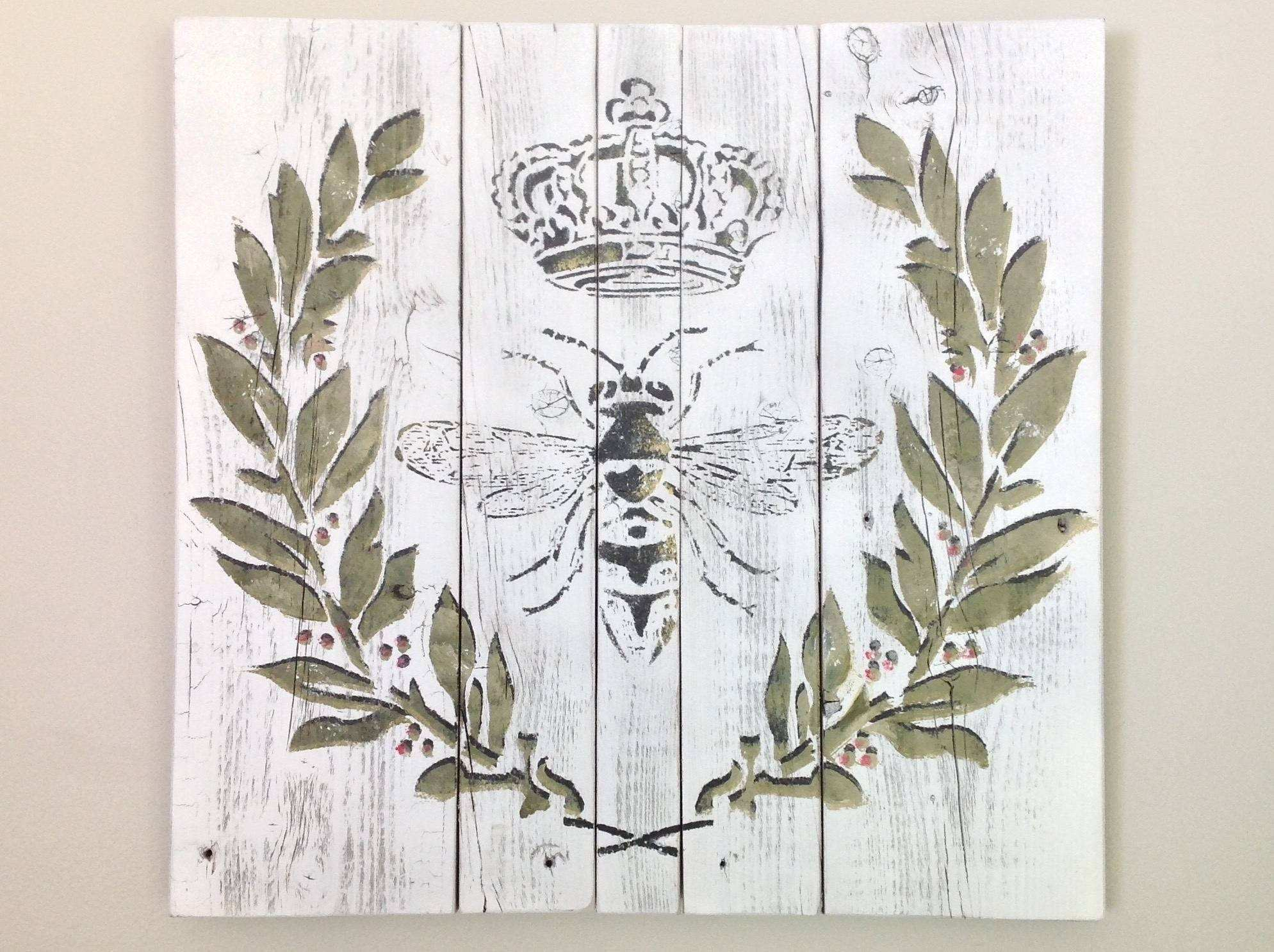 French Country Wall Art s Wall and Door Tinfishclematis