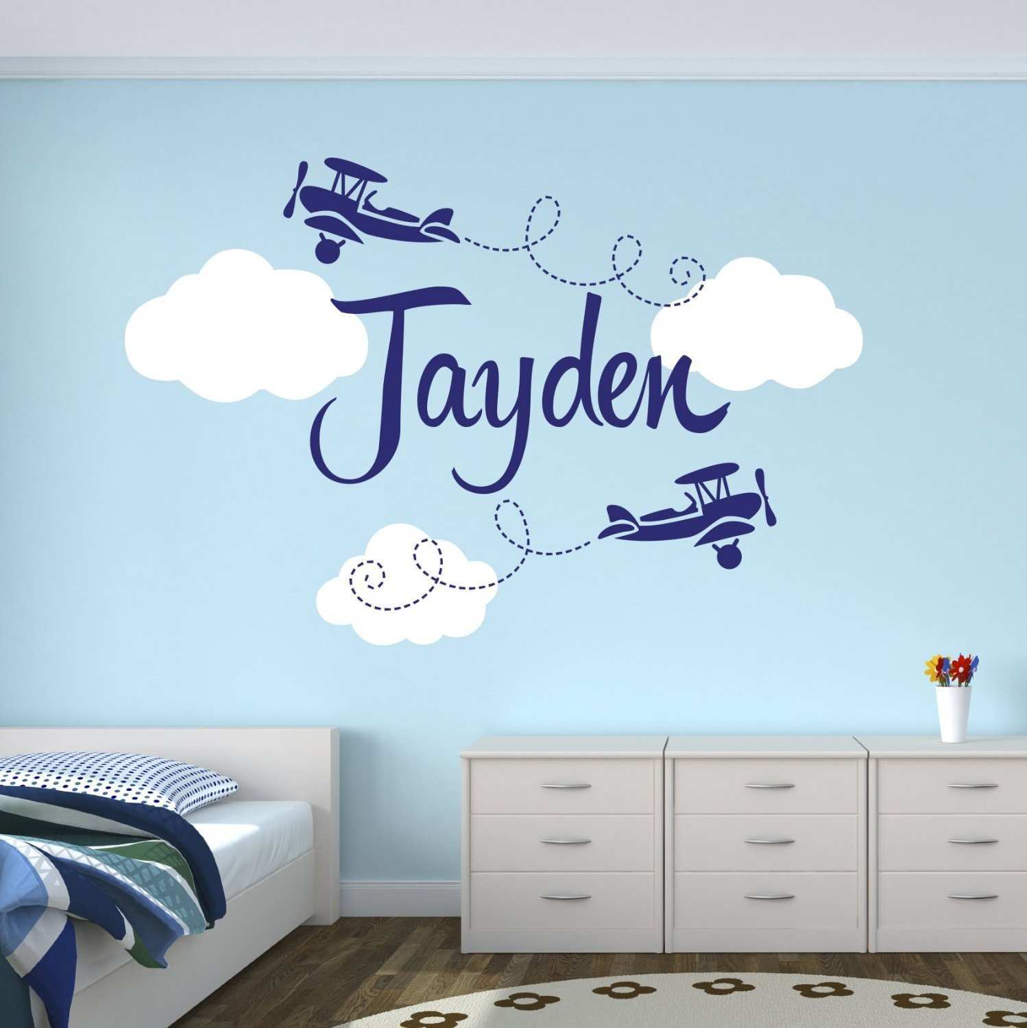 Removable Wall Decals Vinyl Interior Home Decor Beauty Salon Girl