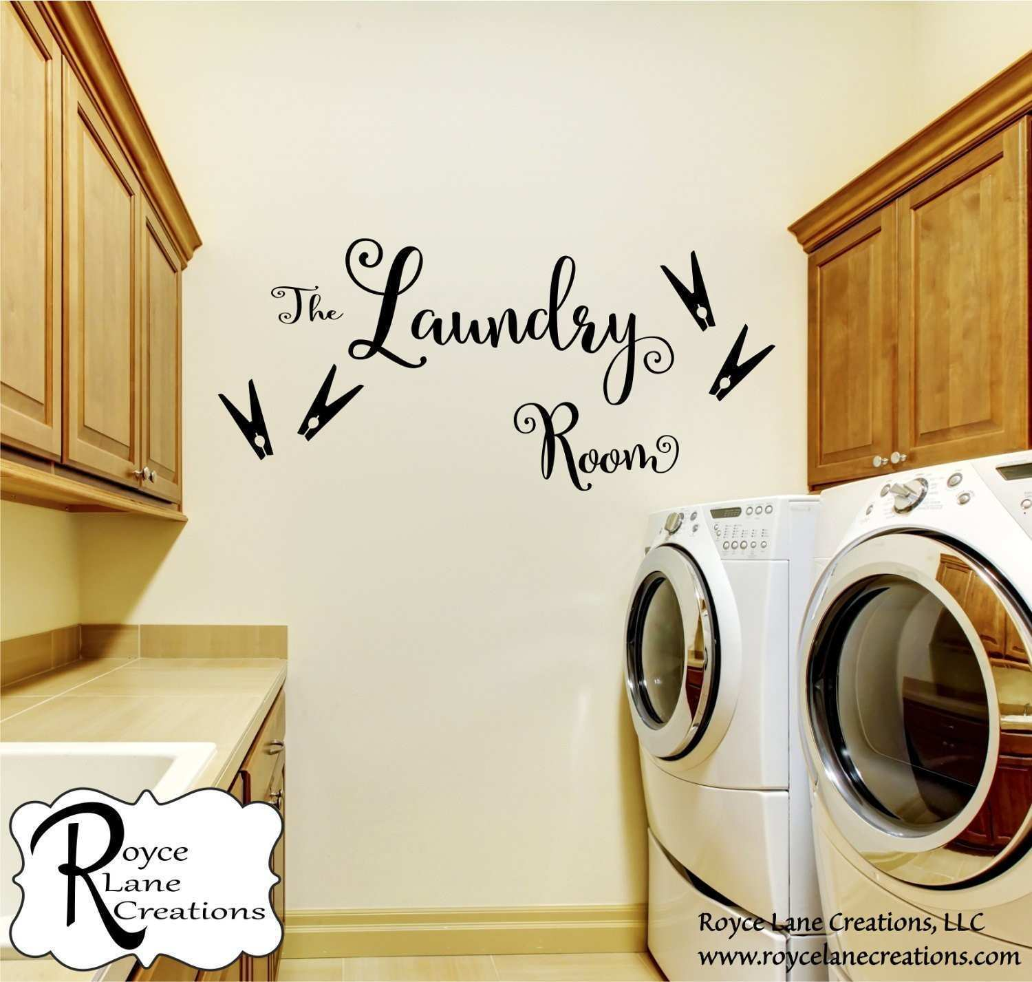 Laundry Room Decal The Laundry Room L6R Laundry Decal Laundry