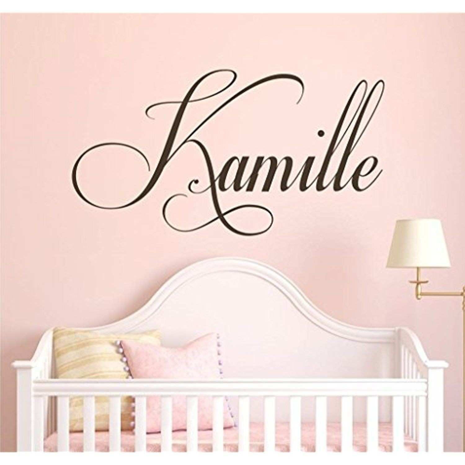 34 Elegant Personalized Wall Decals for Nursery