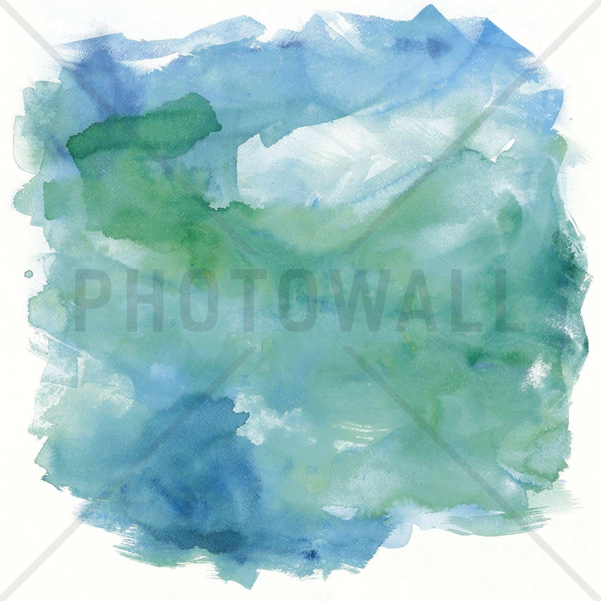 Sea Glass Canvas Print & s wall