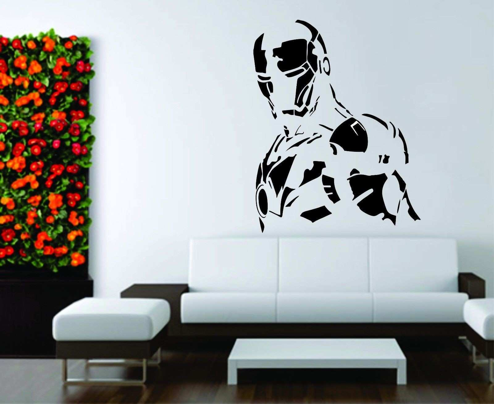 Custom Wall Stencils Fresh Superhero Wall Sticker Batman Movie