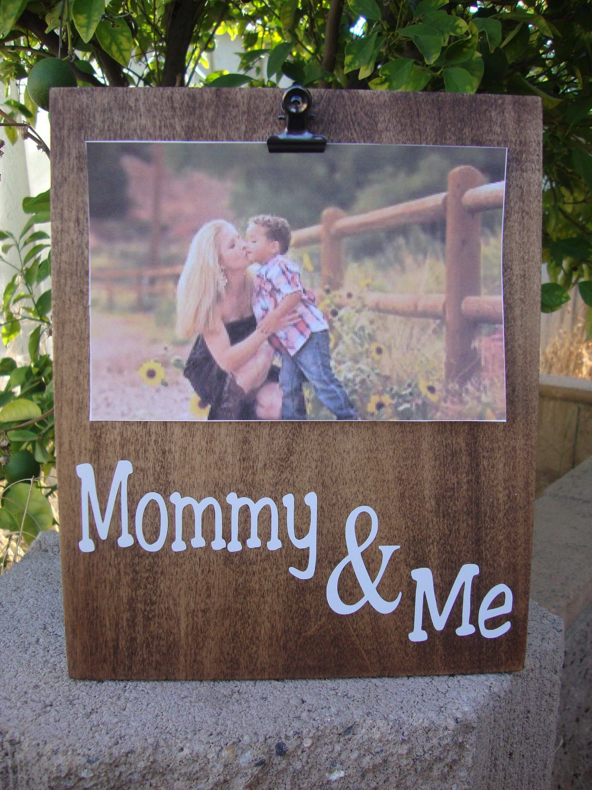 Mommy and Me Frame First mothers day t Nursery frames Custom