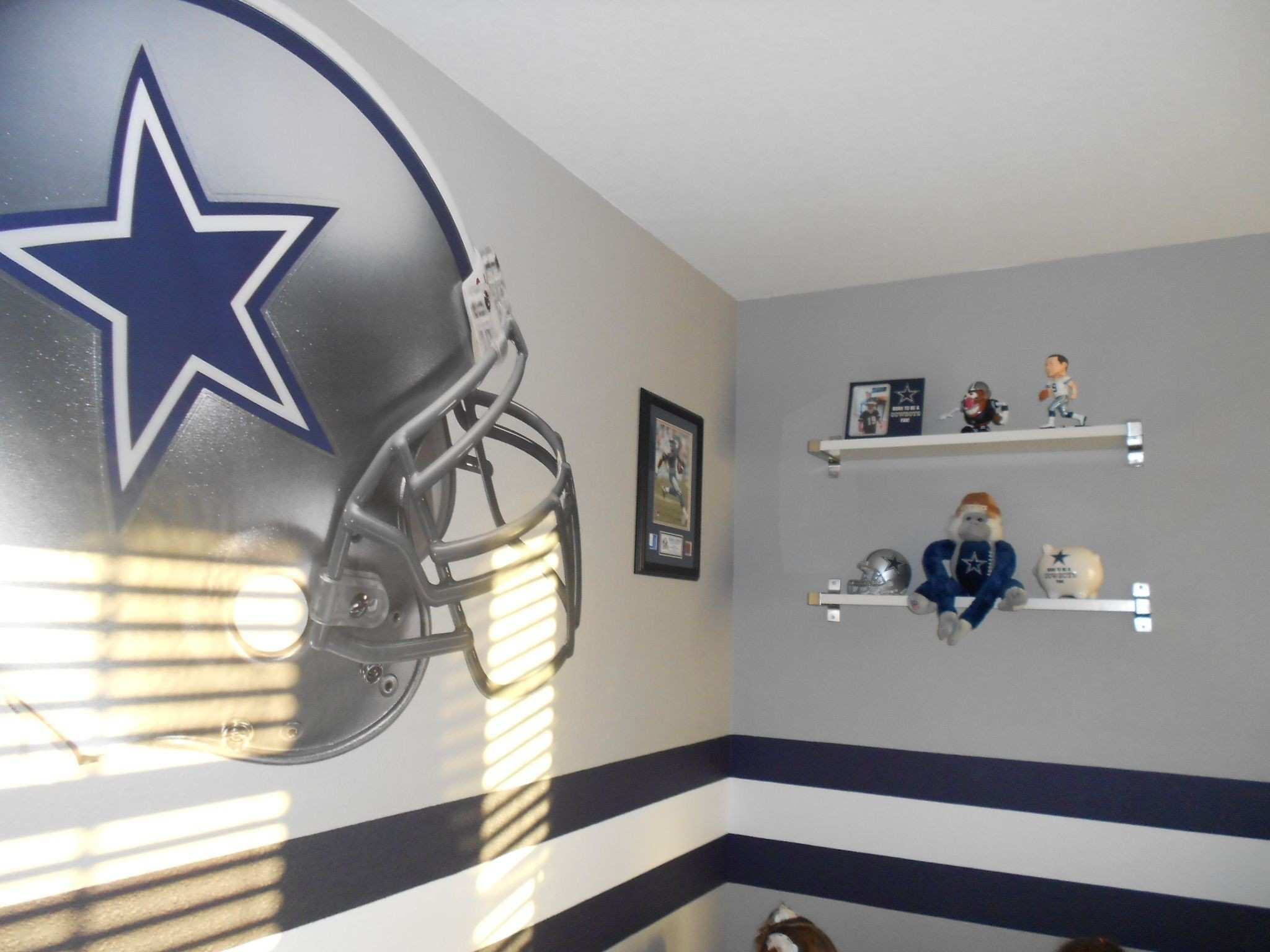 dallas cowboy basement Dallas Cowboys Playroom