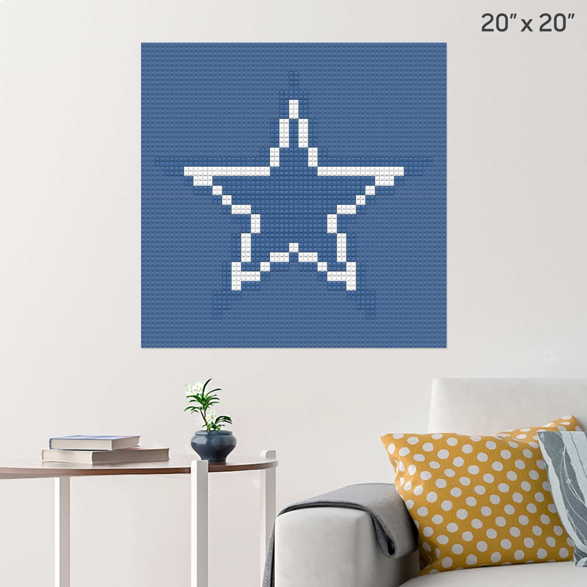 Pixel Dallas Cowboys – BRIK