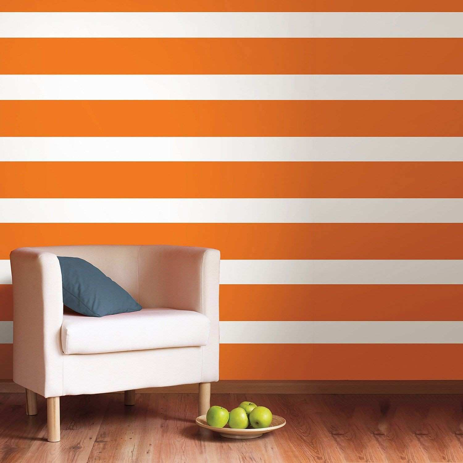 Stripes without painting White Stripe Wall Decals