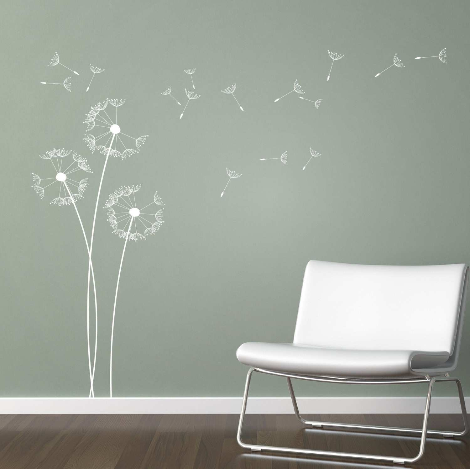 Fresh Wall Decals Dandelion Blowing