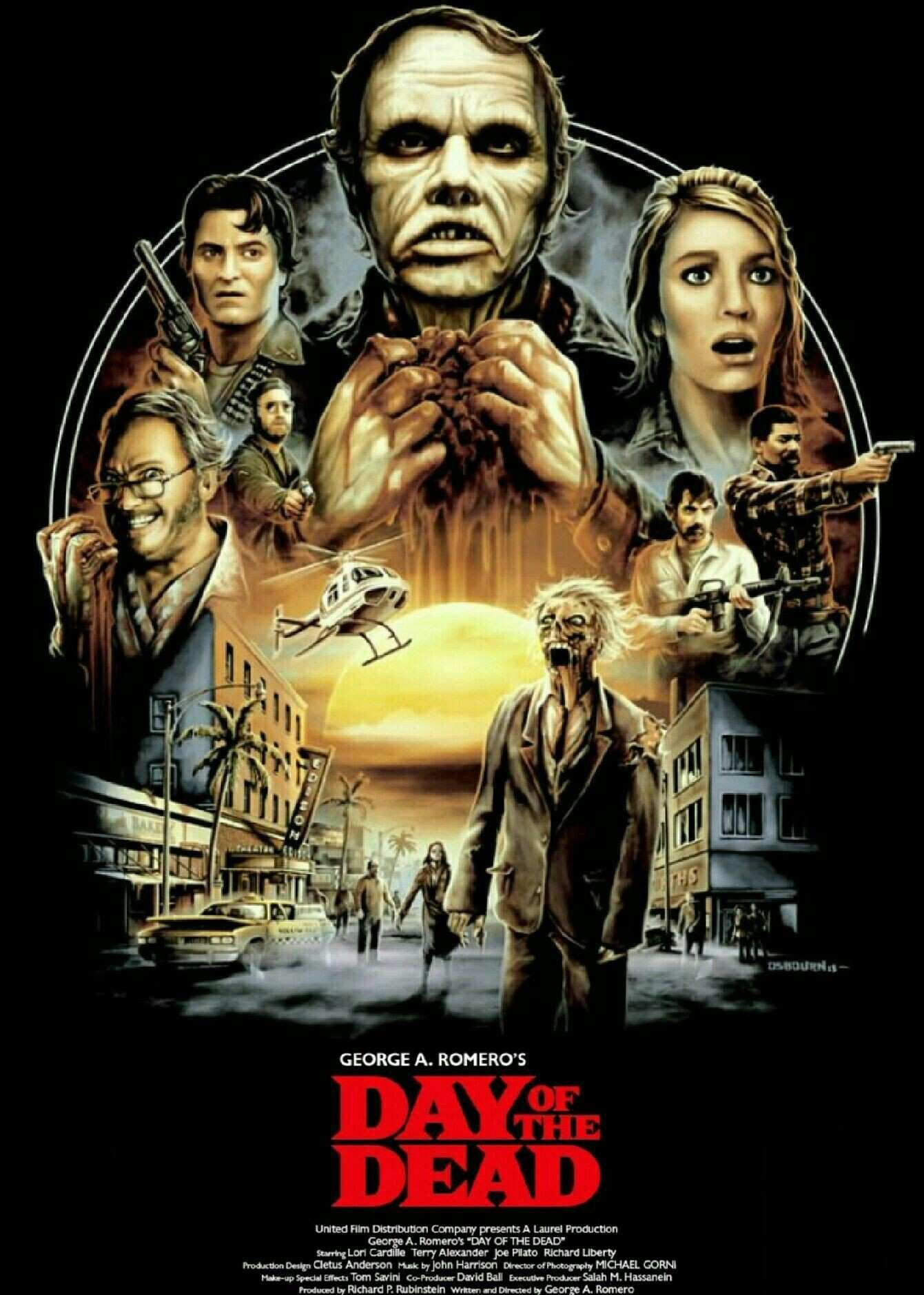 Day The Dead Horror Movie Zombies Horror Pinterest