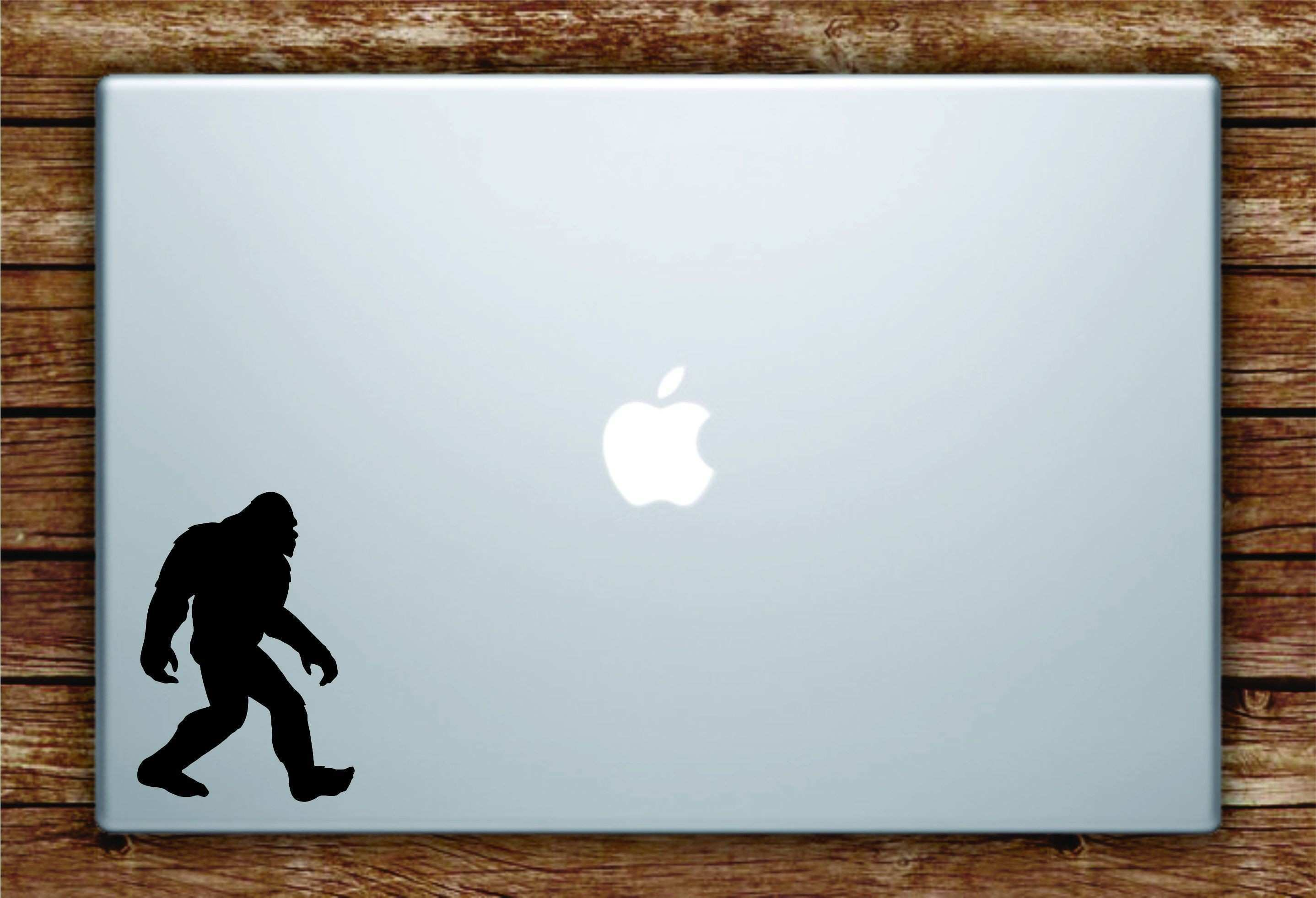 Sasquatch Laptop Apple Macbook Car Quote Wall Decal Sticker Art