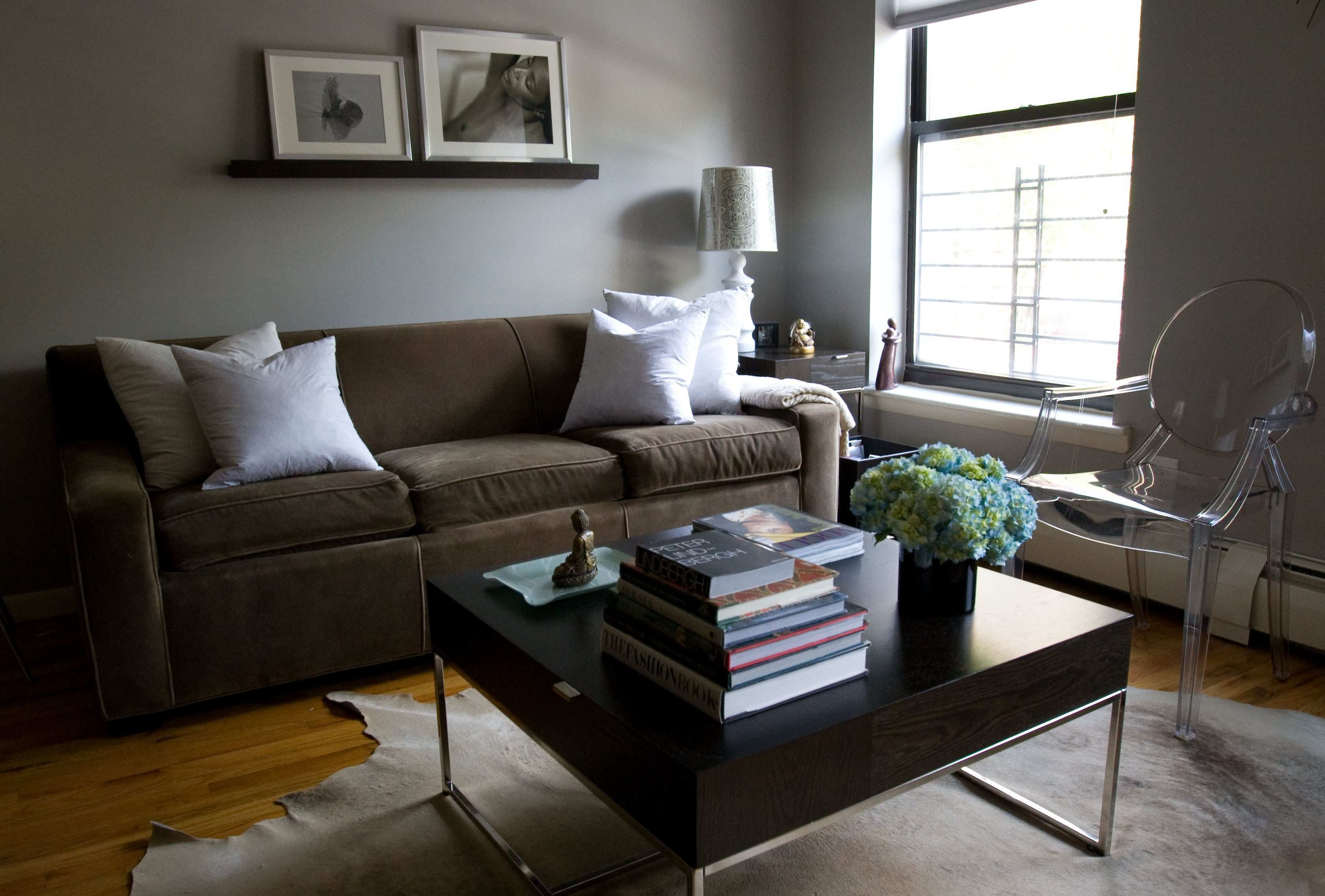 Brown And Gray Living Room Curtains N Grey Ideas Yellow Tan Walls
