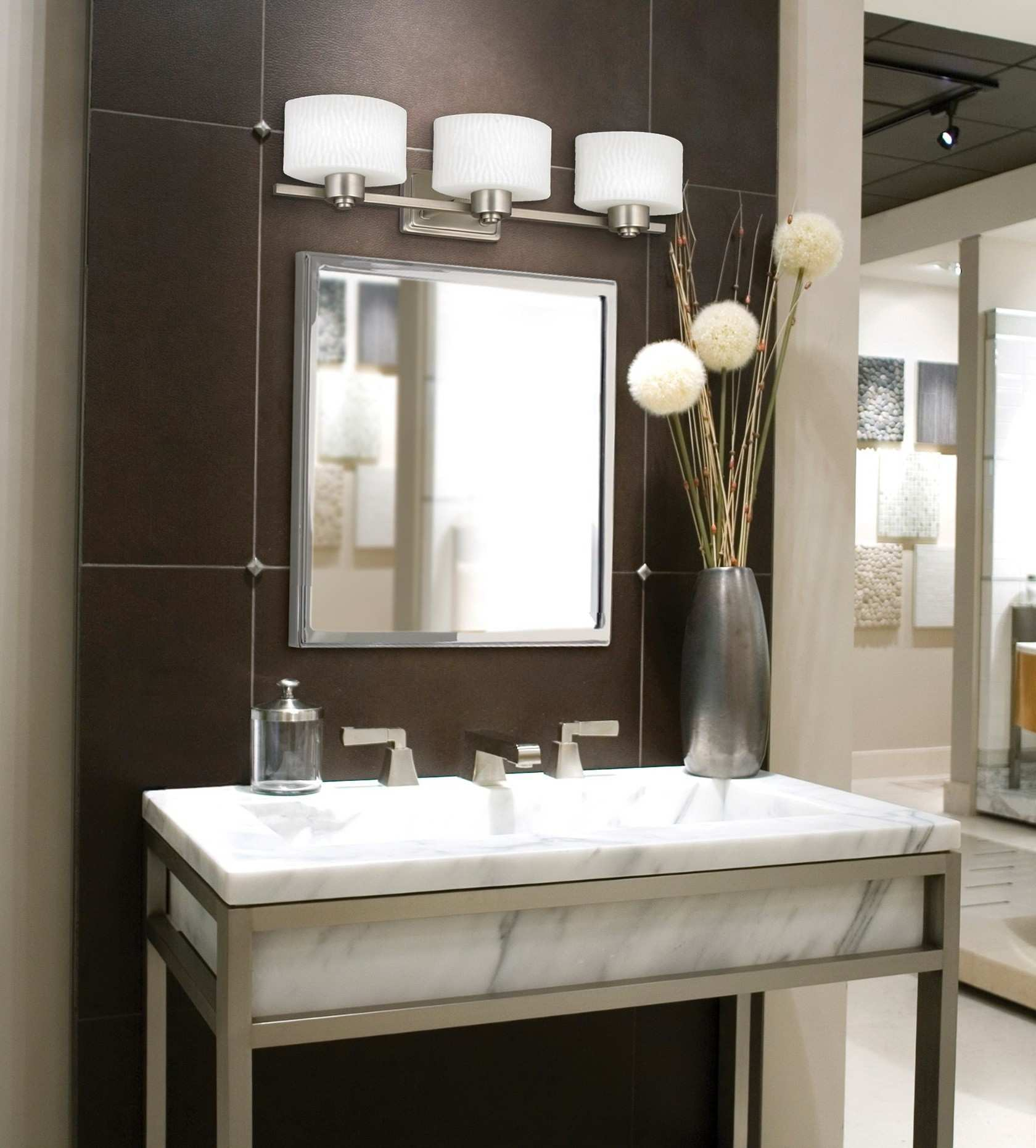 Enchanting Mirrored Bathroom Cabinet Vanity Mirrors For Bathroom