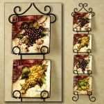 Awesome Decorative Glass Plate Wall Art