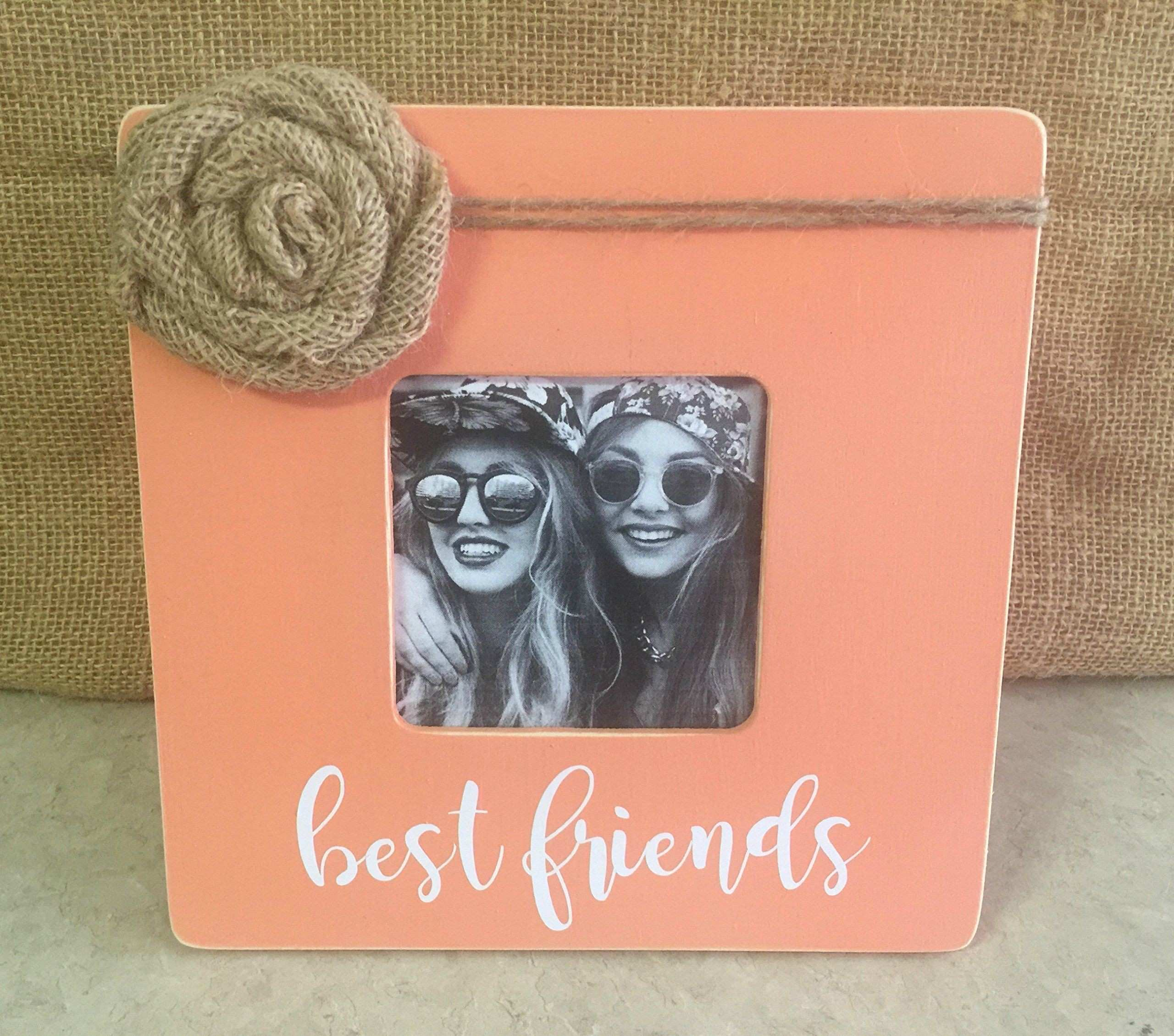 BEST FRIENDS Picture Frame Home Decor Personalized Picture Frame