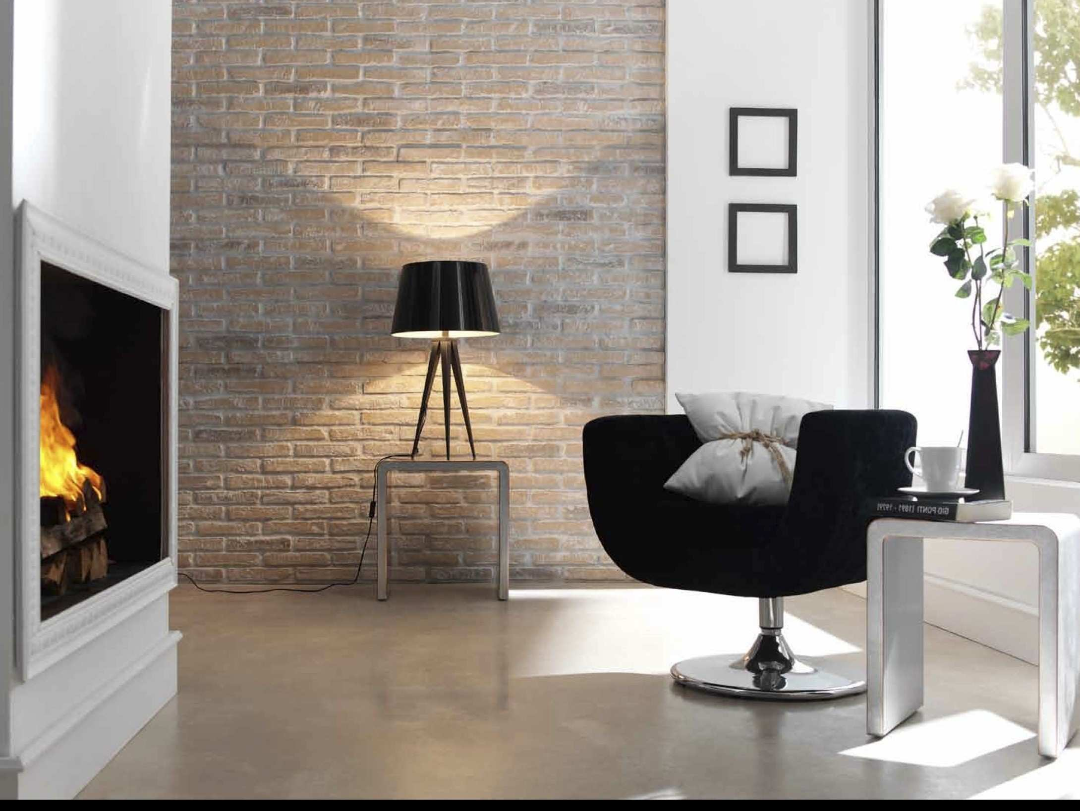 furniture Brick Wall Decoration Ideas White Wallpaper Bedroom