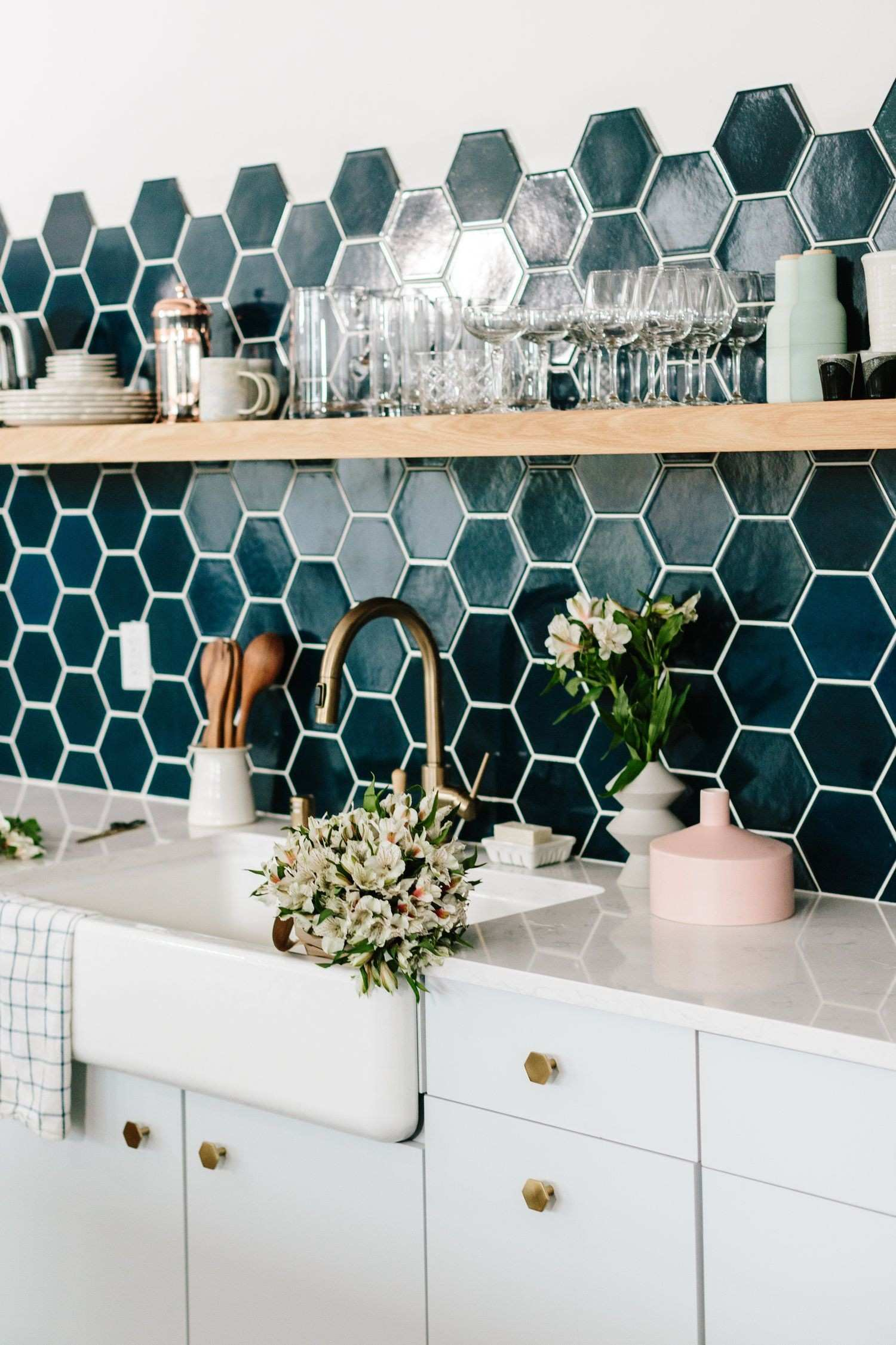 Best 12 Decorative Kitchen Tile Ideas Pinterest