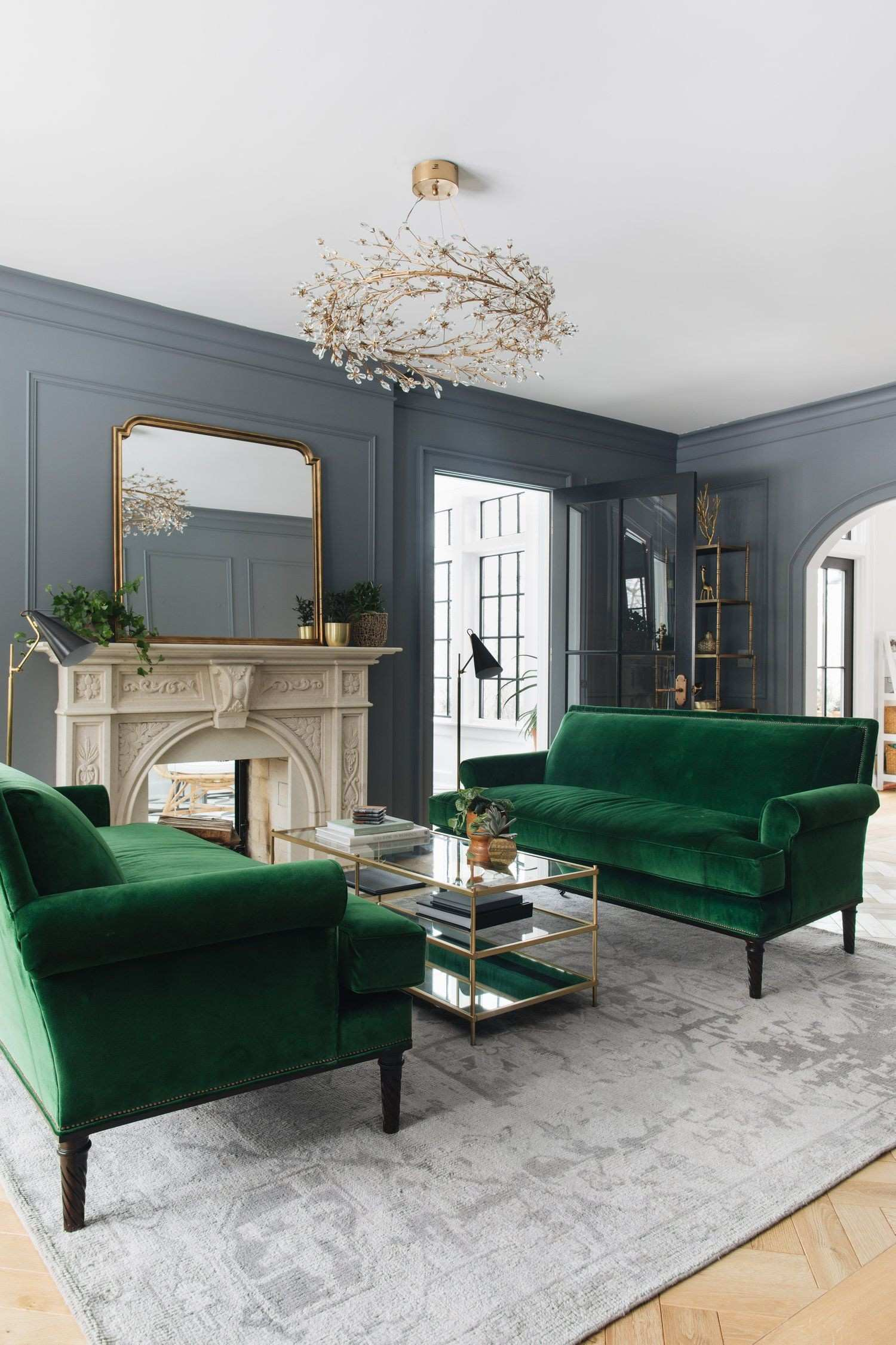 Designer Mirrors for Living Rooms Luxury Jean Stoffer Design