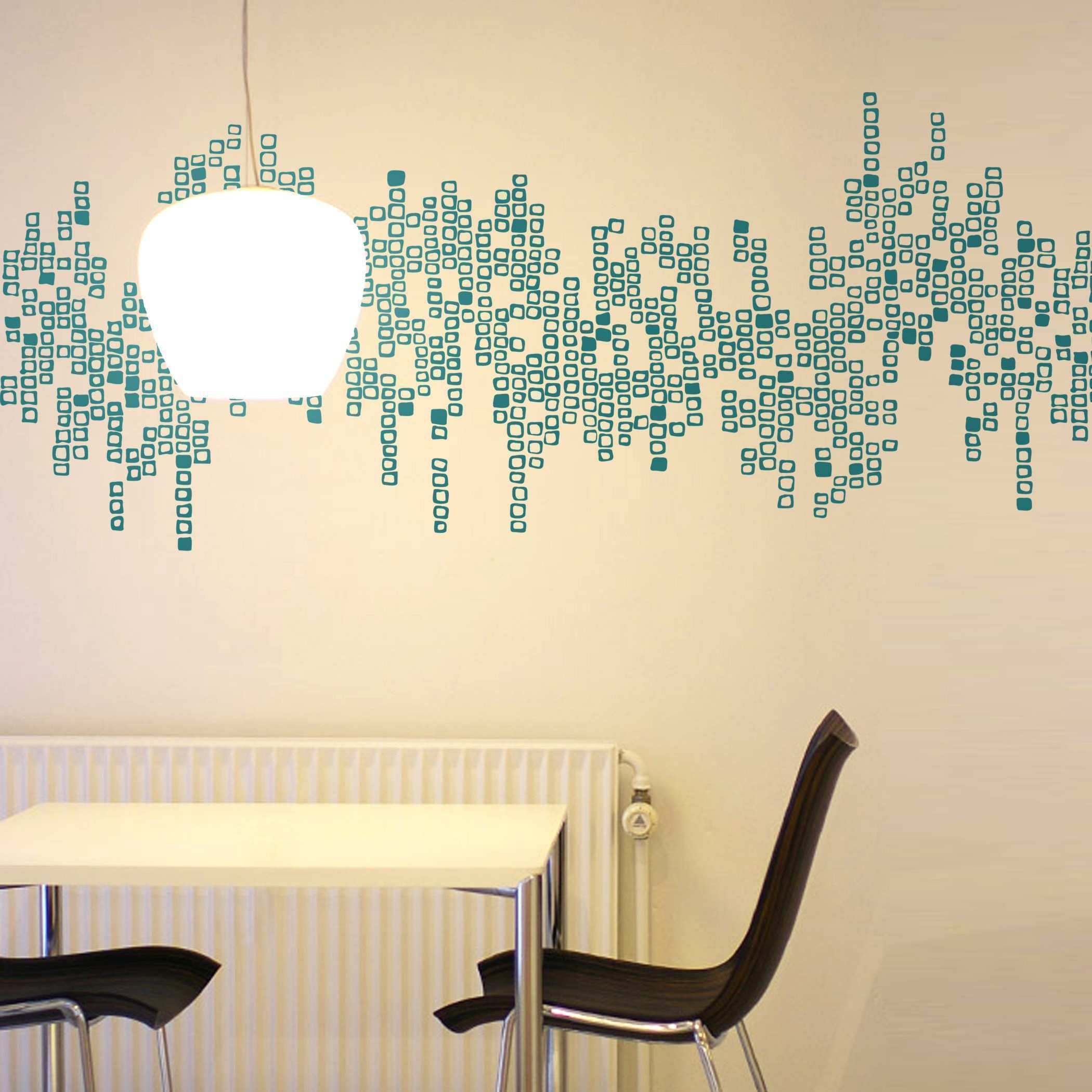 Cozy Exterior Theme With Extra Wall Decals For Dining Room Hafoti