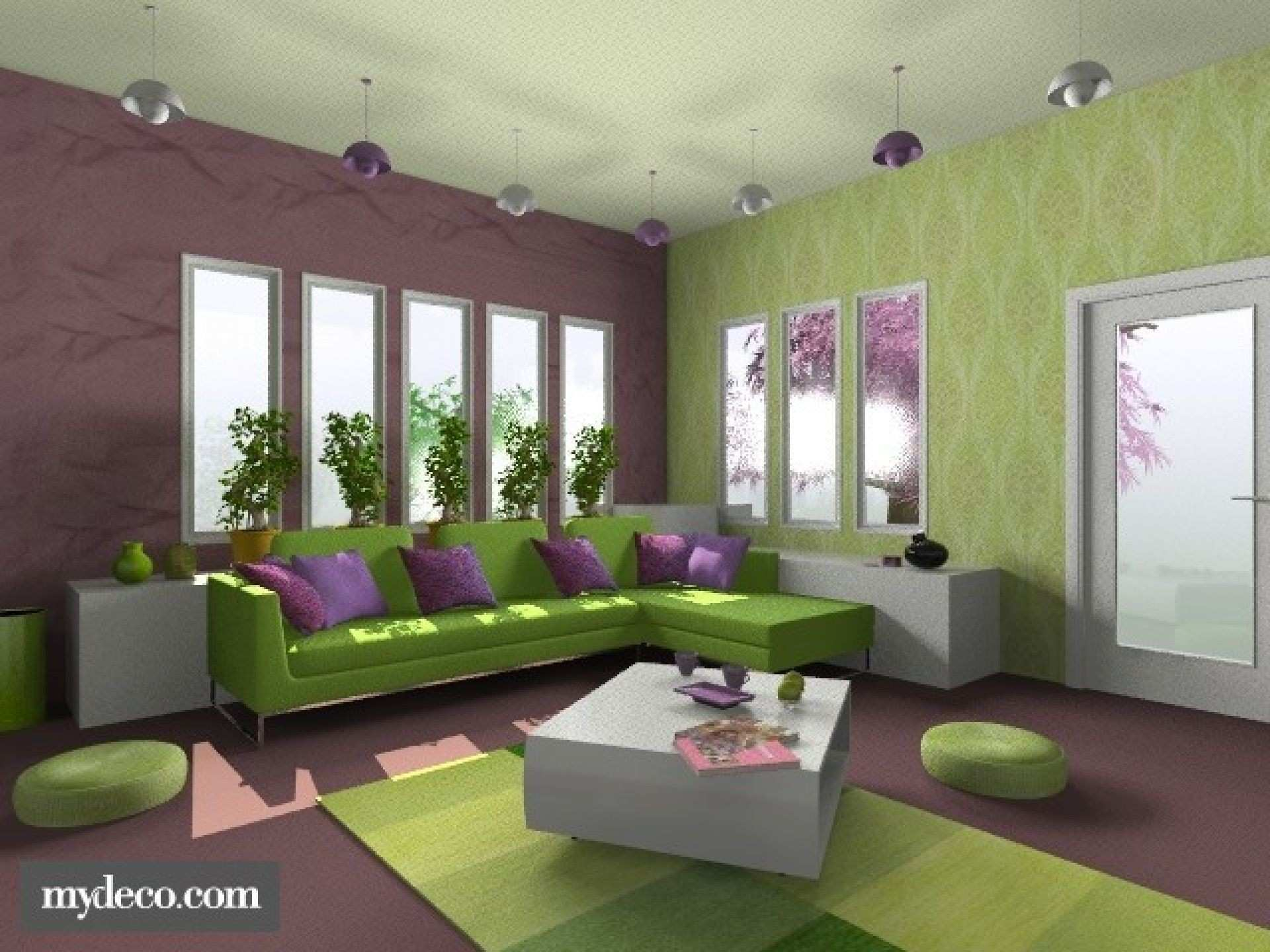 Decorating Ideas for Living Rooms with Green Walls Inspirational Big