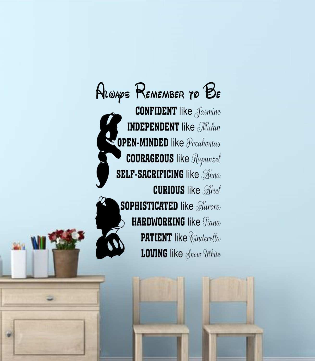 36 New Disney Wall Decal