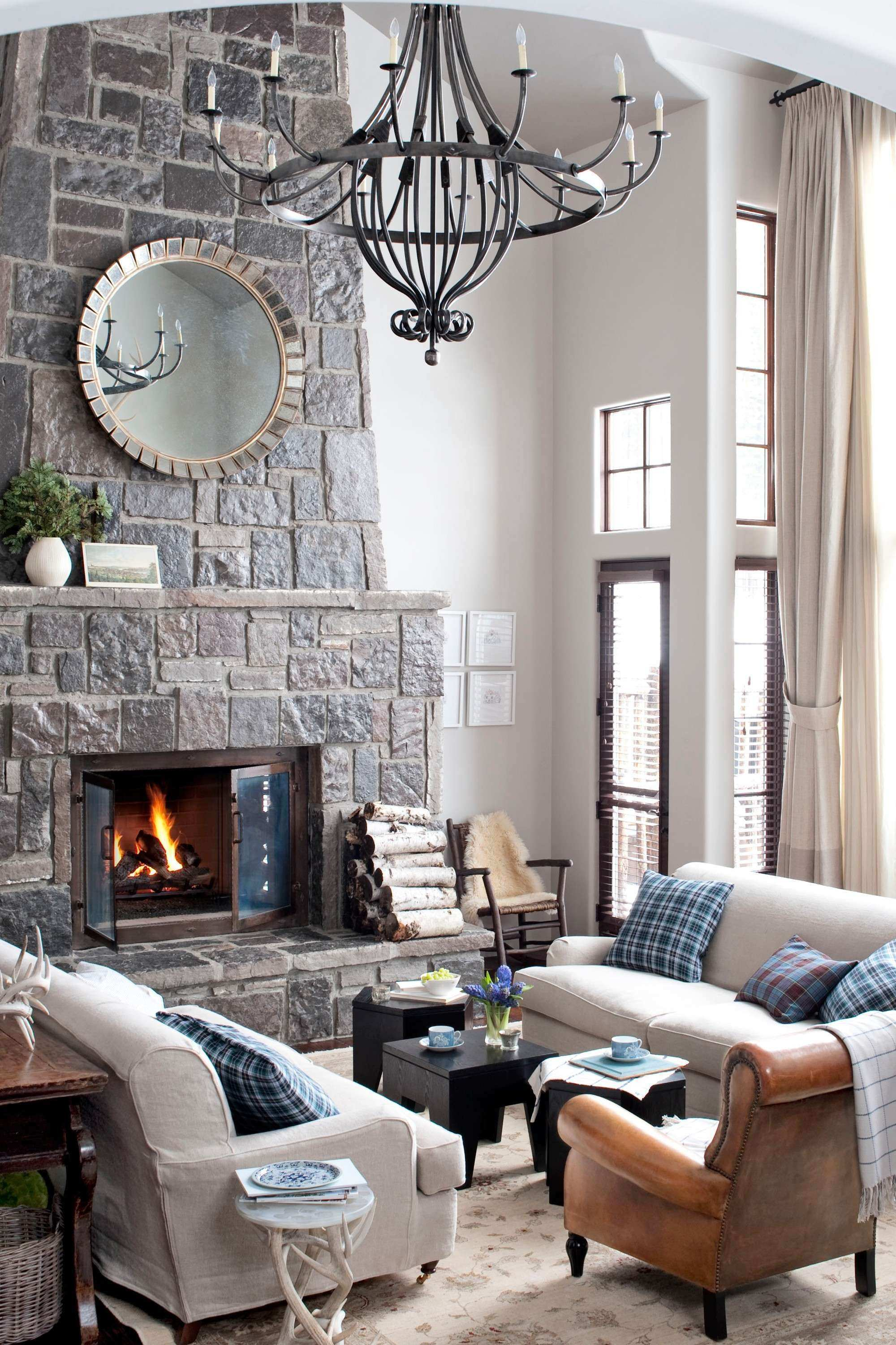 50 Luxury Wall Design Ideas for Living Room