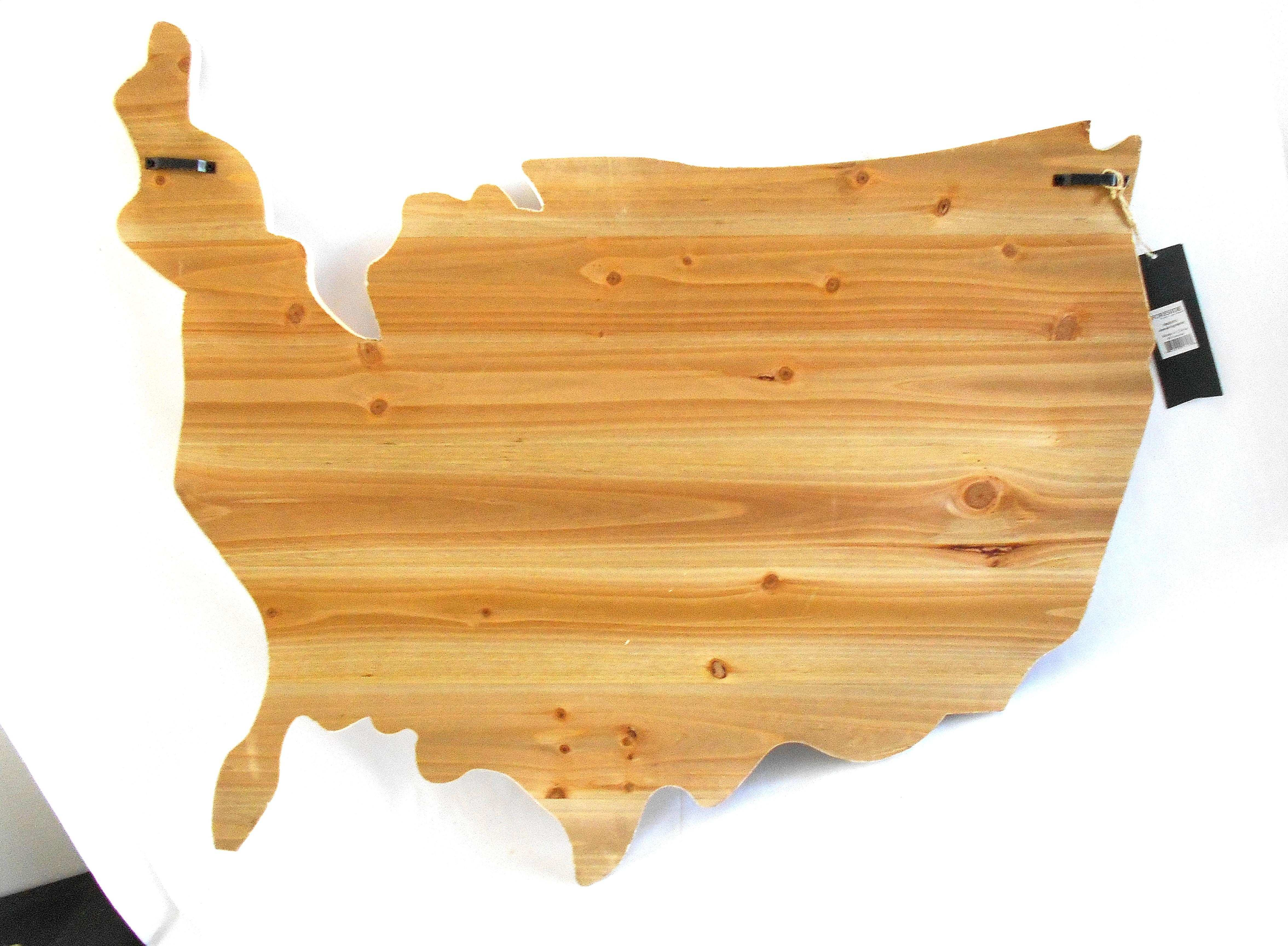 Attractive Wooden American Flag Wall Art Picture Collection Art