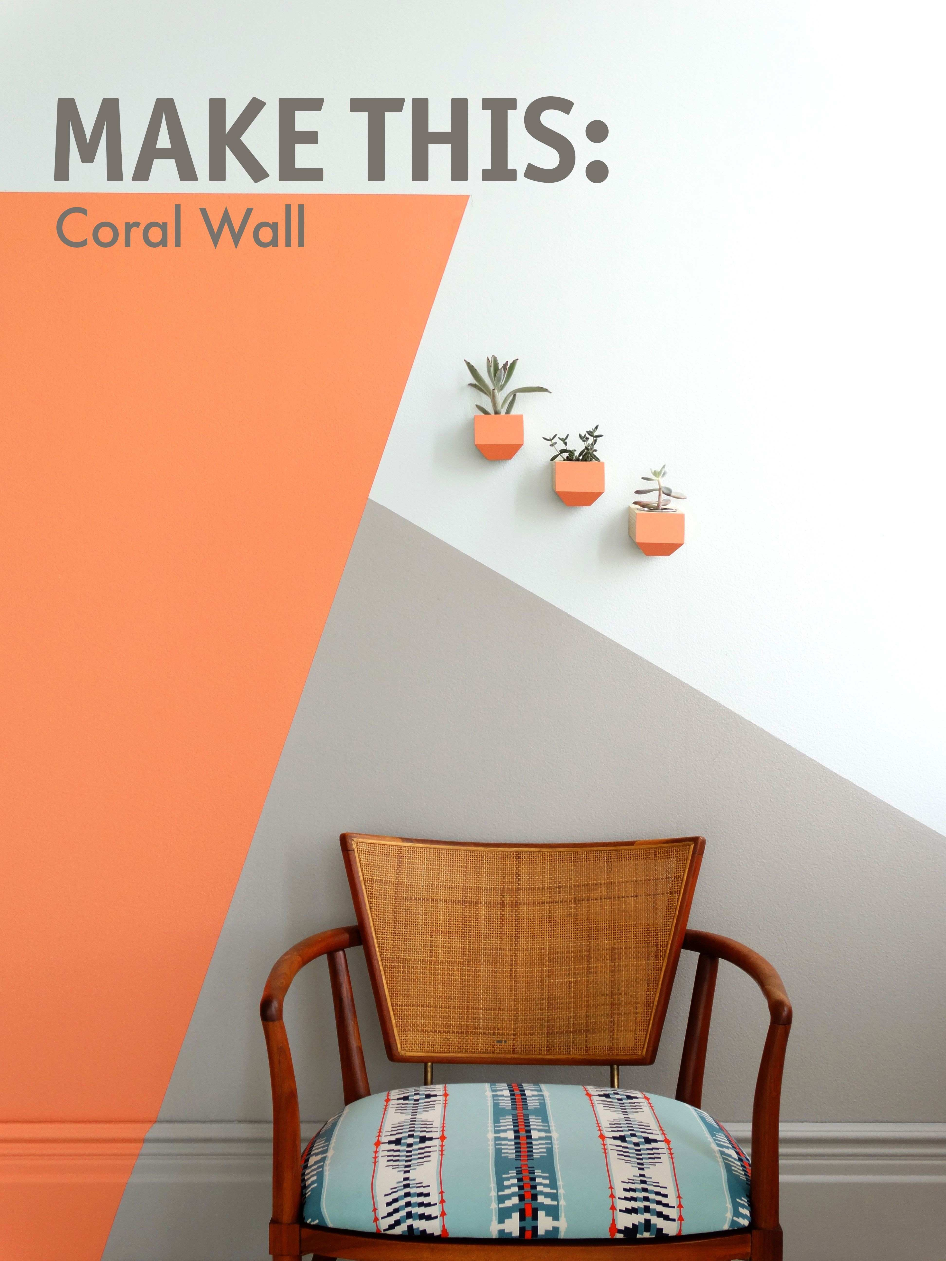 DIY this wall with hues from Colorhouse paint