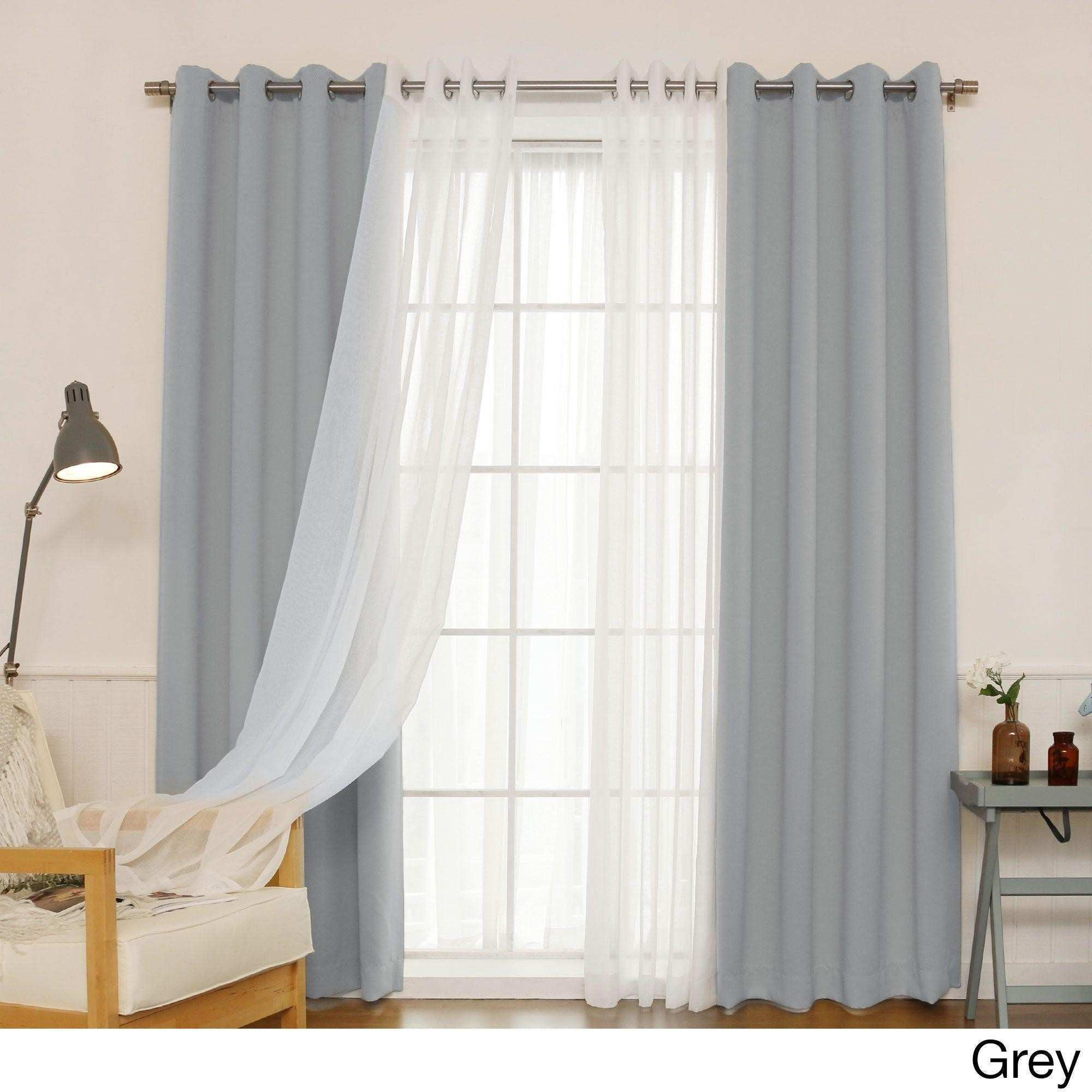36 Coolest Double Panel Curtains