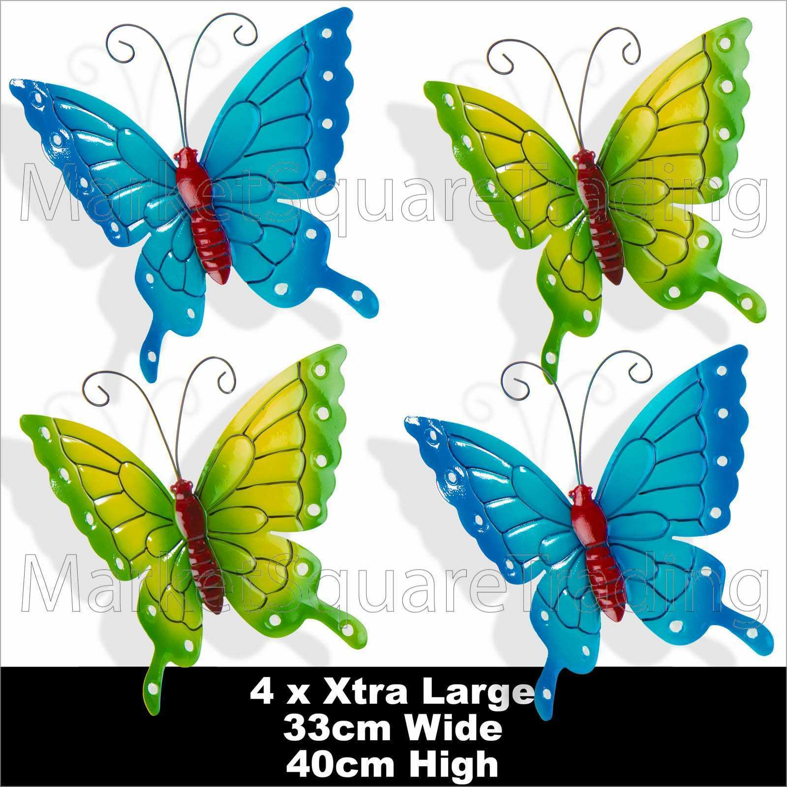 Charming Butterfly Garden Wall Art Ideas Exterior ideas 3D gaml