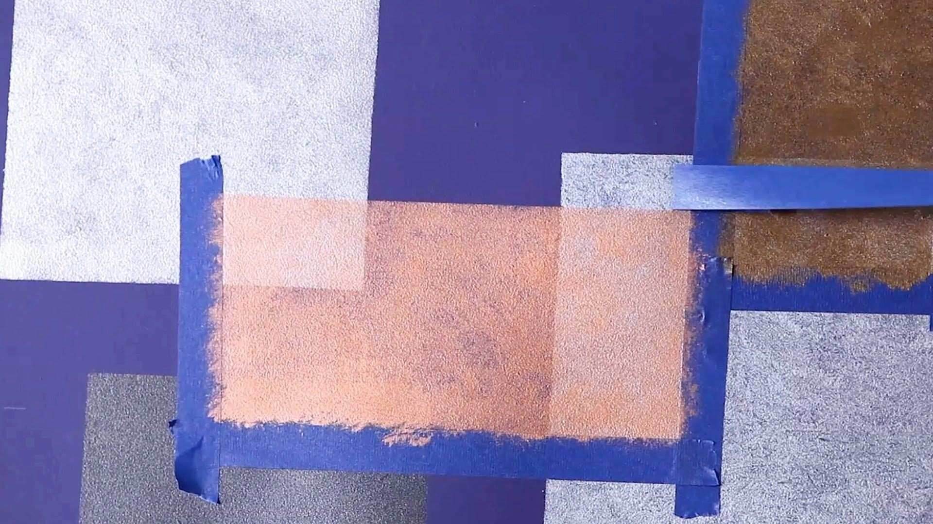 How to Paint Overlapping Squares on Wall Paint Techniques