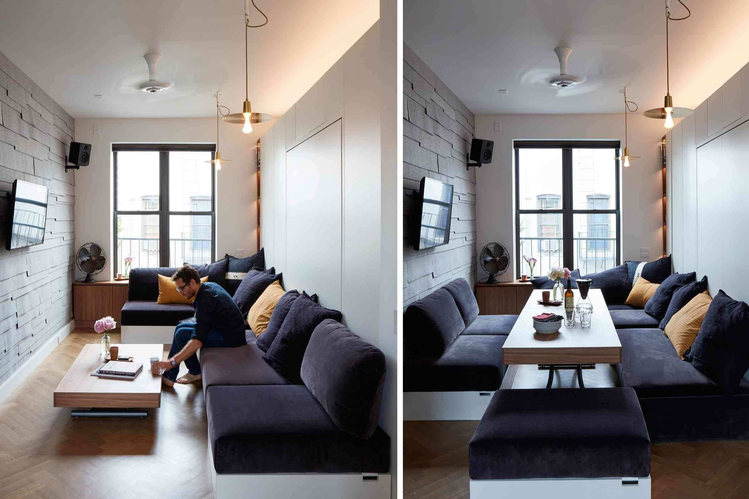 Empty Living Room with Furniture Luxury 12 Perfect Studio Apartment