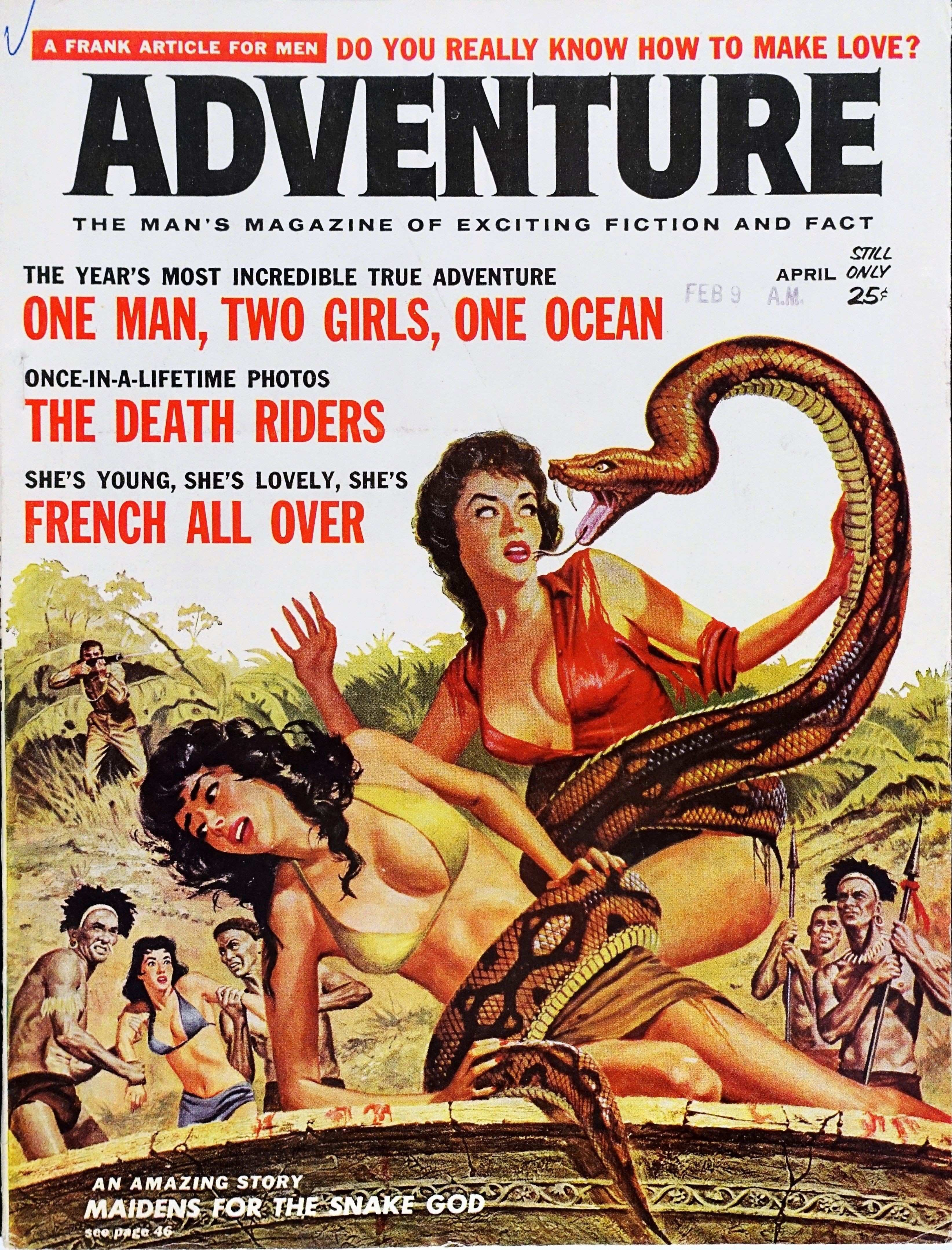 ADVENTURE Maidens For The Snake God