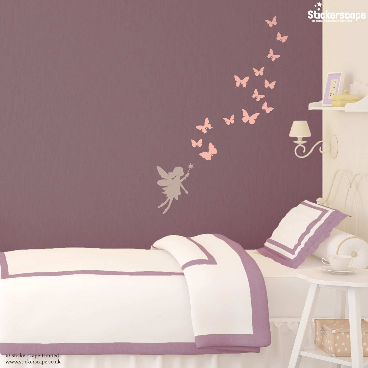 Fairies Wall Stickers home design wall stickers
