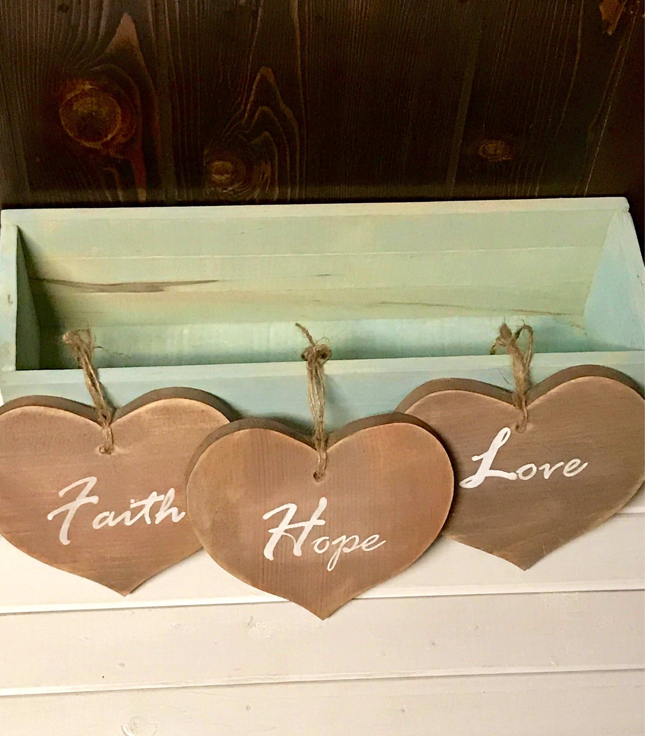 Faith Hope Love Wall Decor Best Of A Personal Favorite From My Etsy Shop