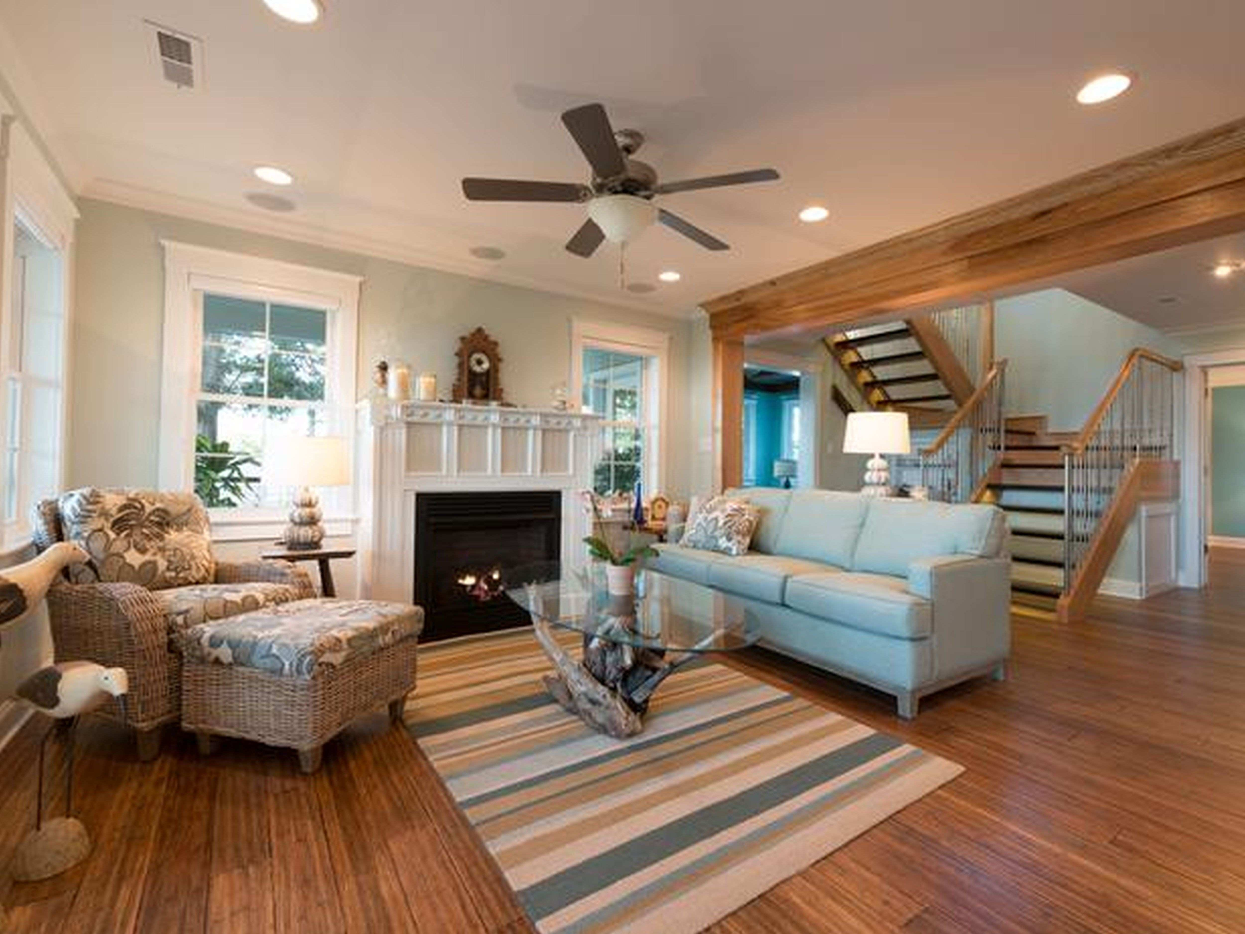 Family Room Decorating Ideas With Fireplace Darling And Daisy Dining