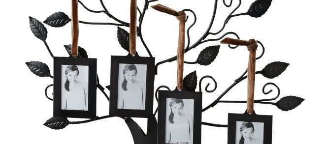 Family Tree Picture Frame Wall Hanging Best Of Tree Of Life with 4 ...