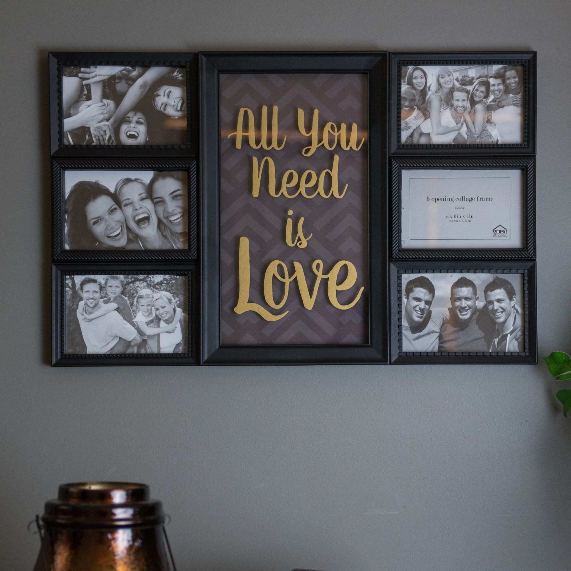 6 Piece Family Tree Collage Picture Frame Set