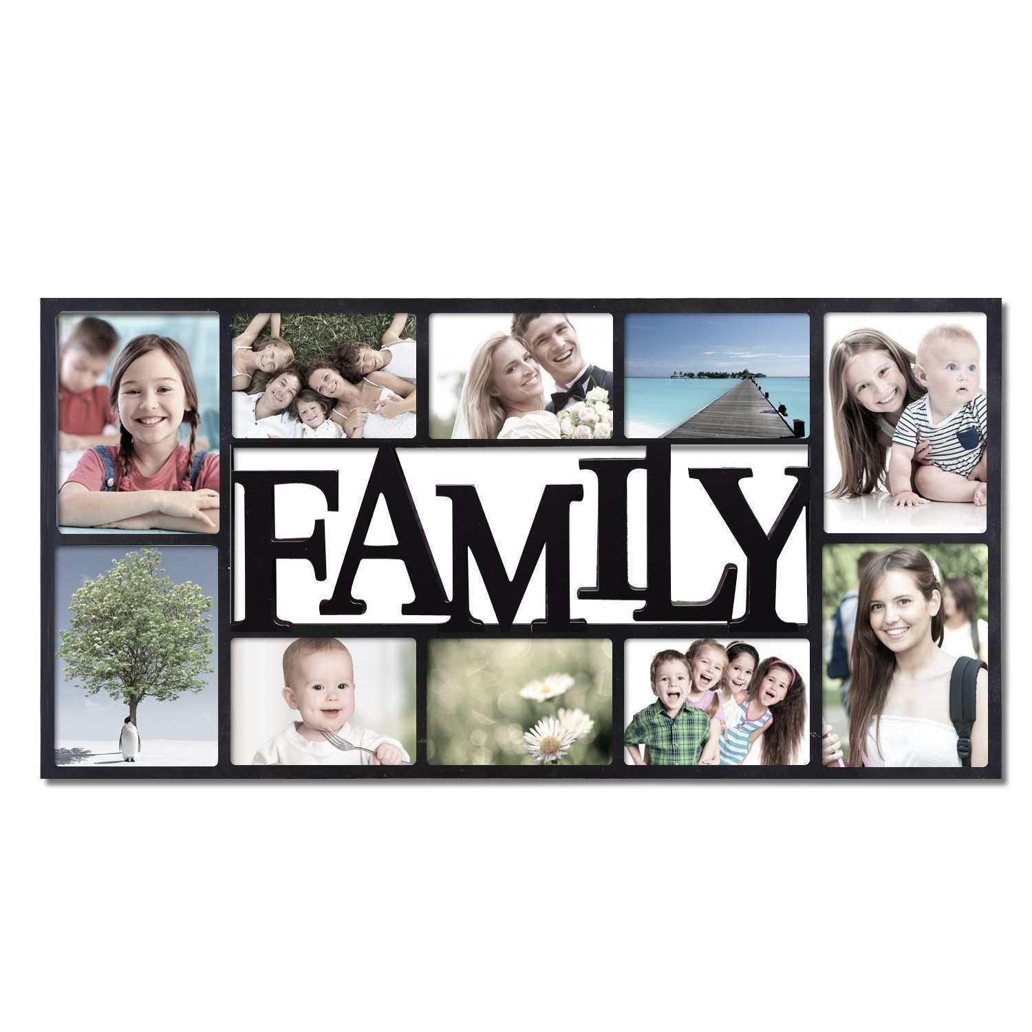 6 Aperture Family Frame Find Me A Gift Picture Frames