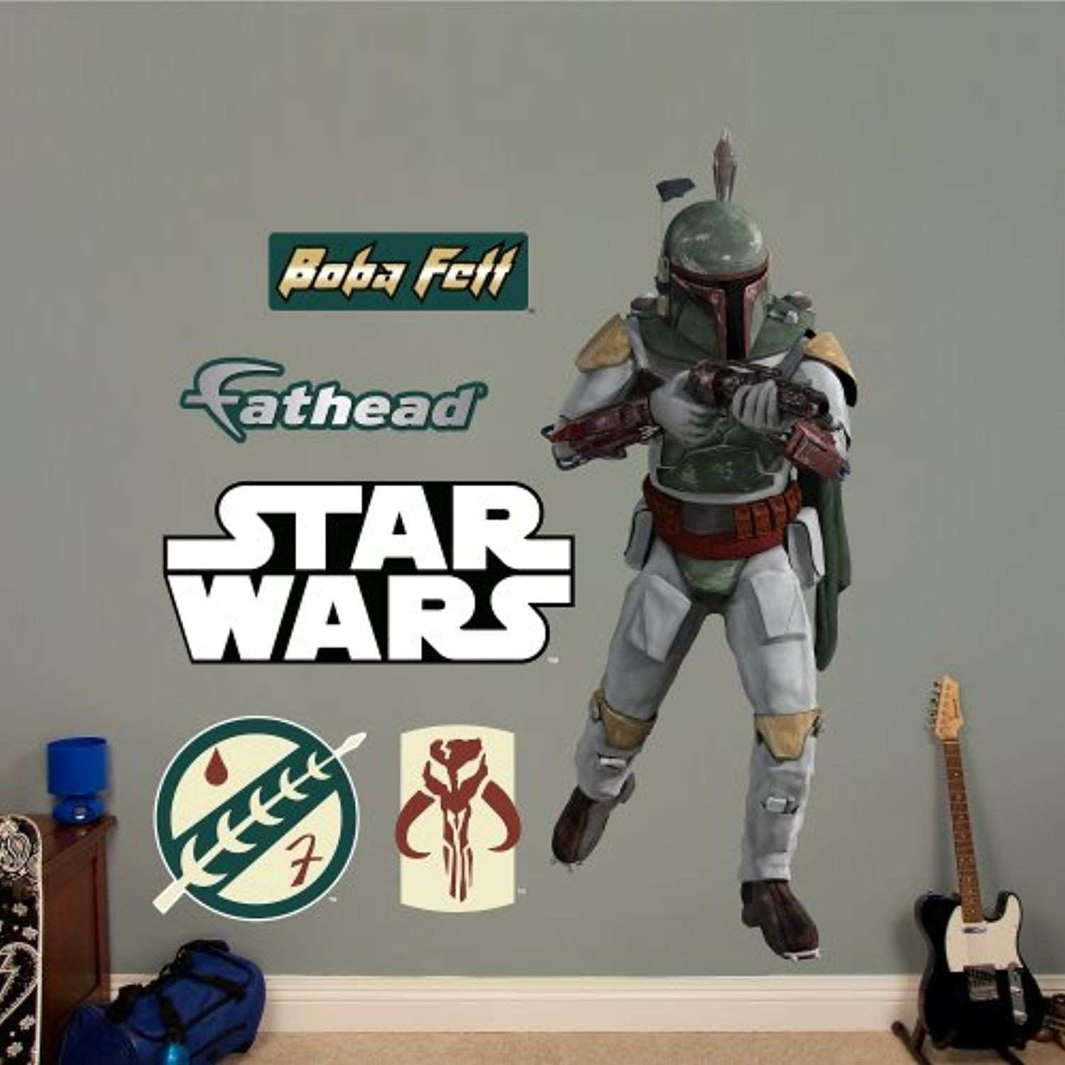 FATHEAD Boba Fett Graphic Wall Dĩcor Check out this great