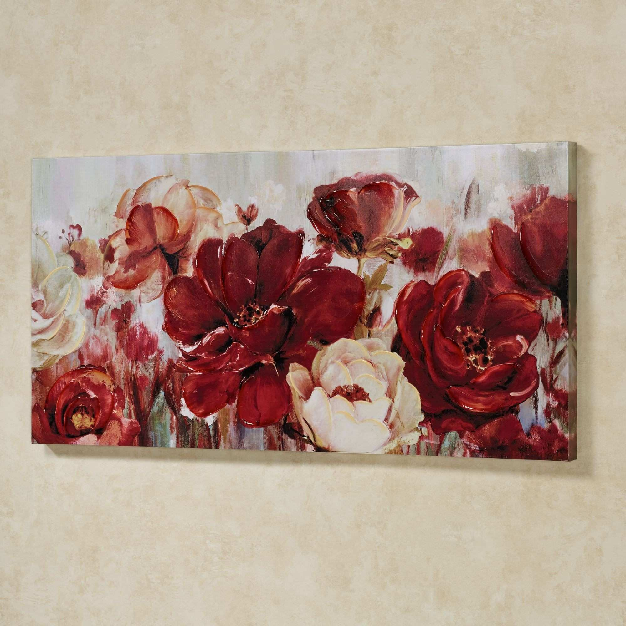 Rhapsody of Florals Giclee Canvas Wall Art