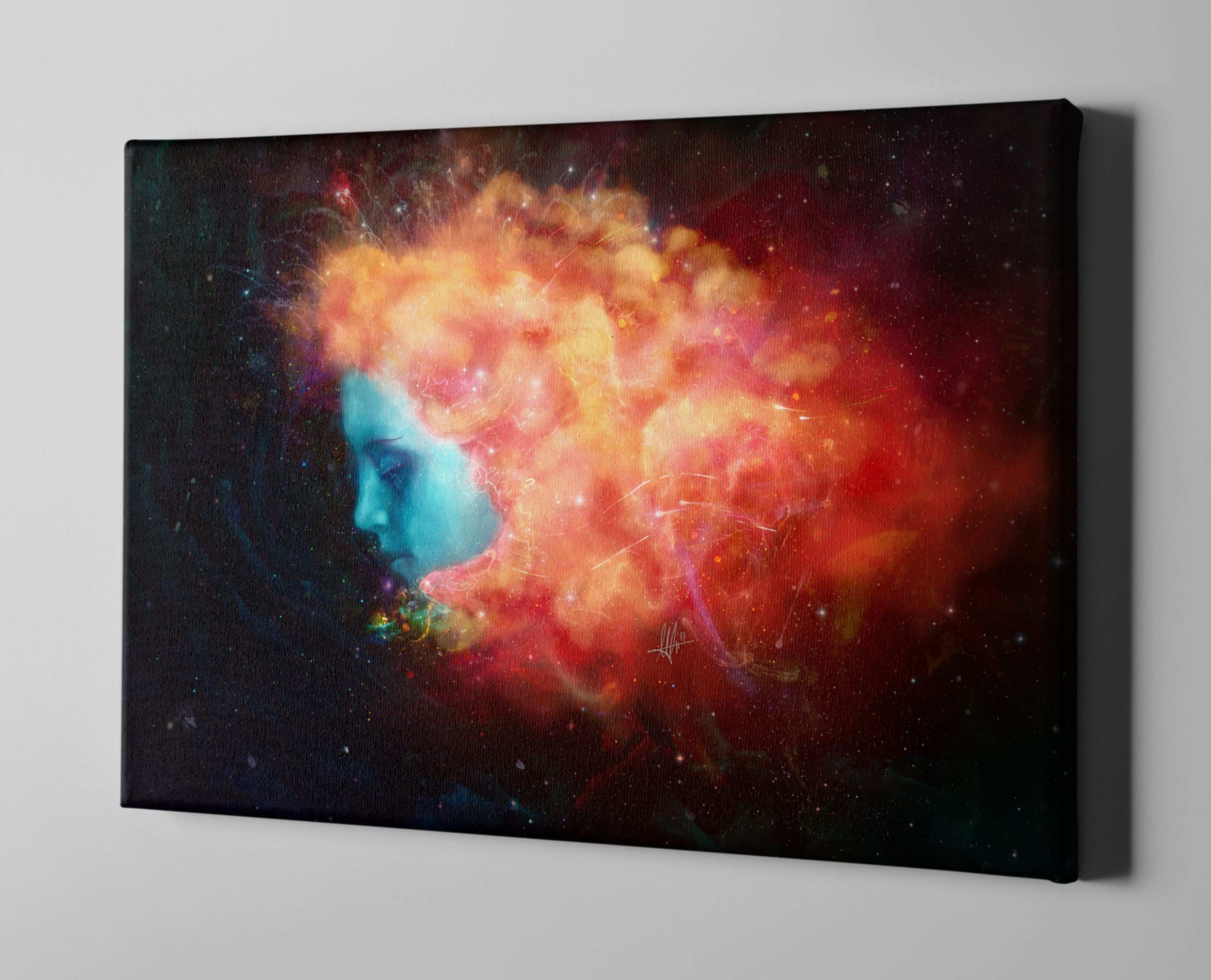 "Trance"" Giclee Canvas Wall Art"