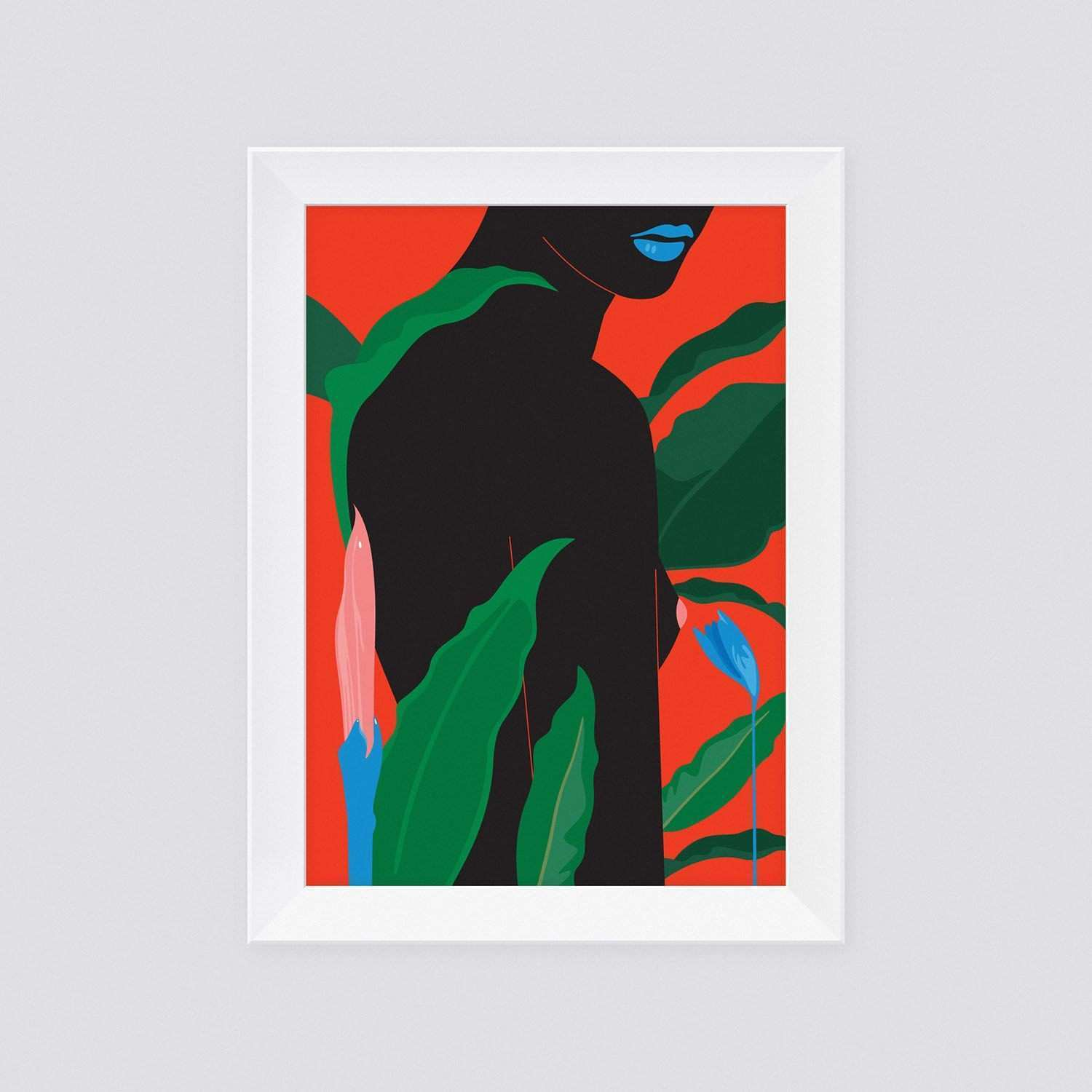 Fine Nude Art Print • In The Jungles • Limited Edition
