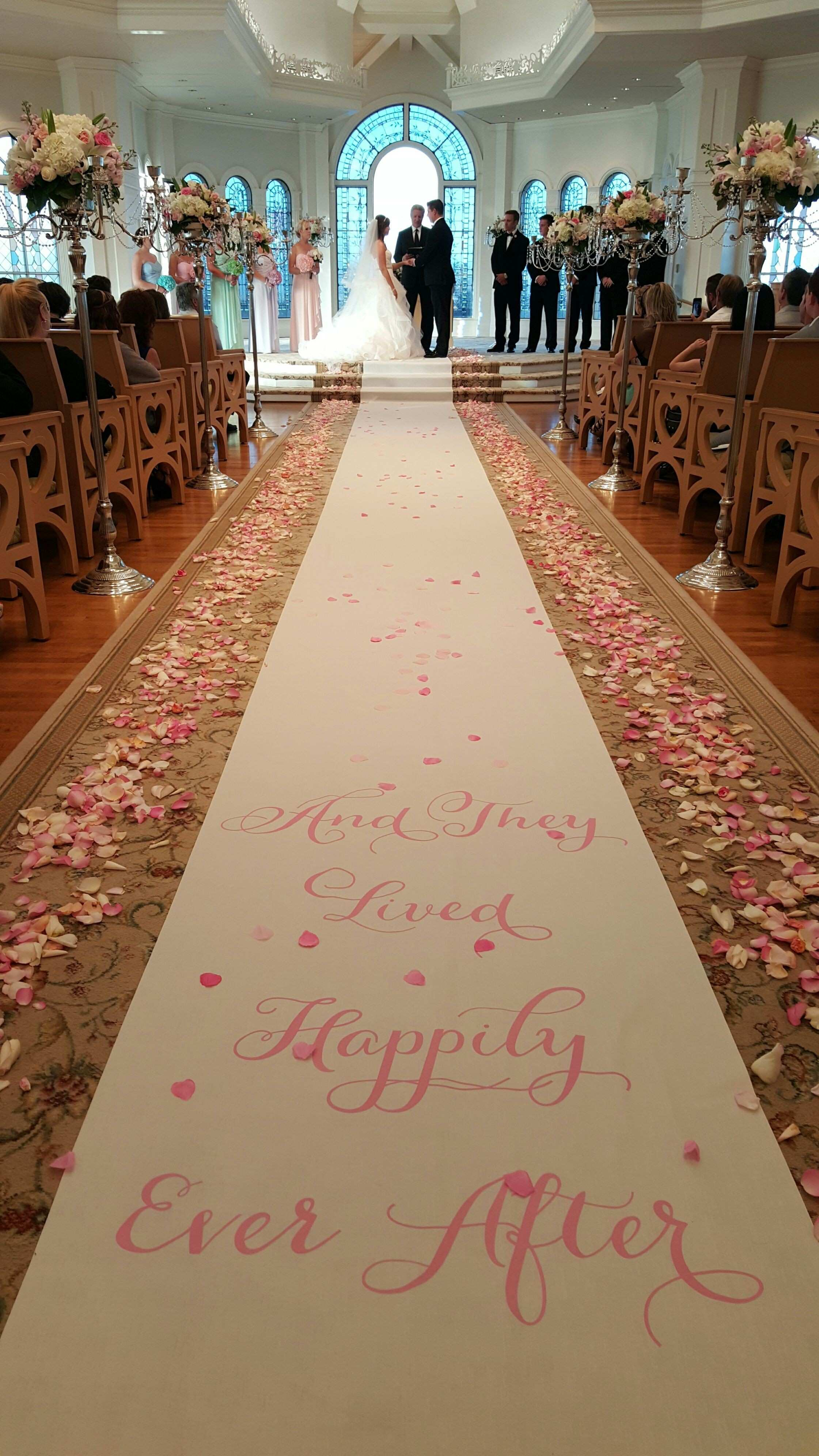 A real life fairy tale story at Disney s Wedding Pavilion