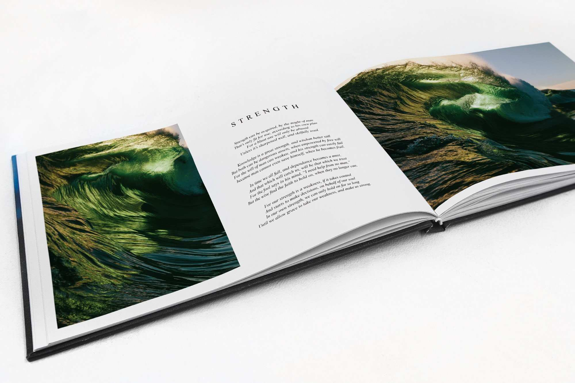 Living Water Coffee Table Book Thurston